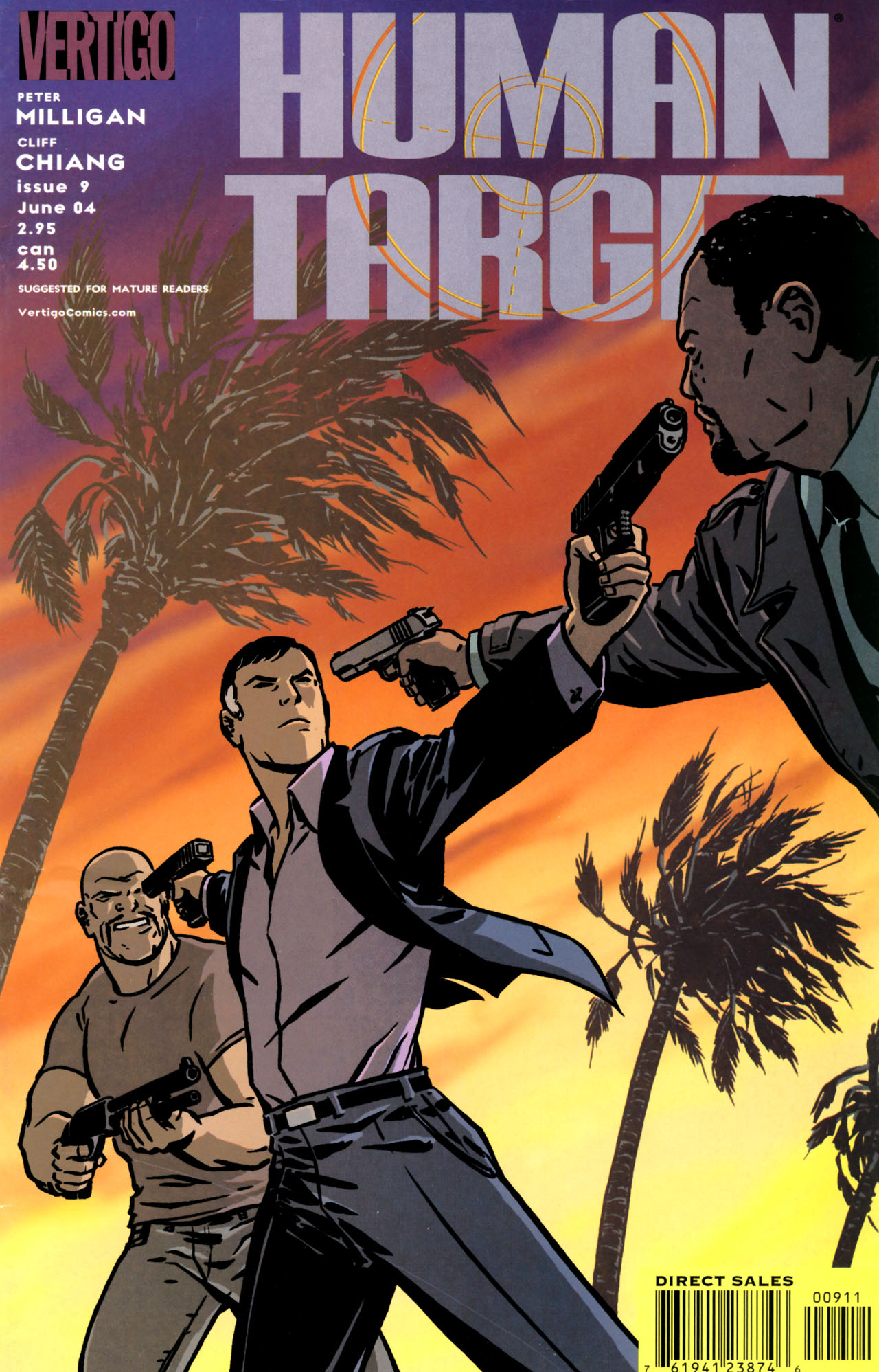 Human Target (2003) issue 9 - Page 1
