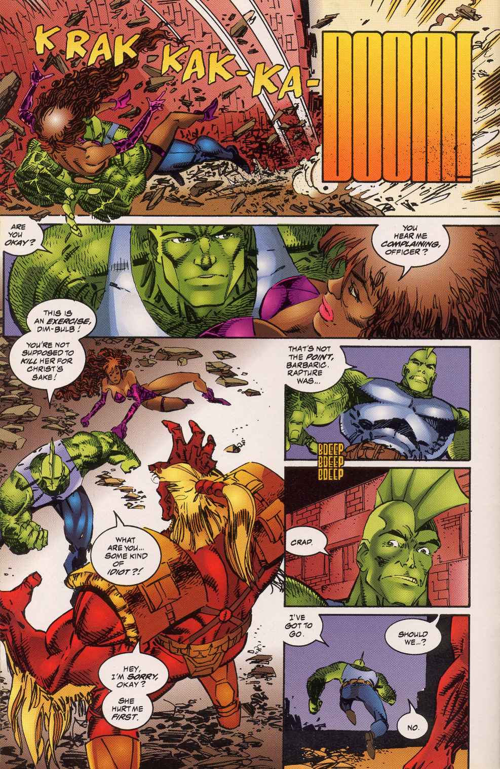 The Savage Dragon (1993) Issue #5 #7 - English 12