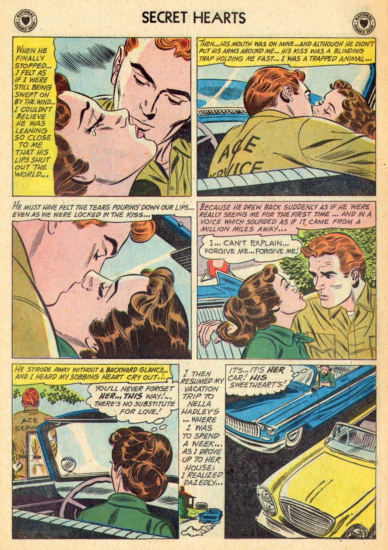 Read online Secret Hearts comic -  Issue #70 - 30