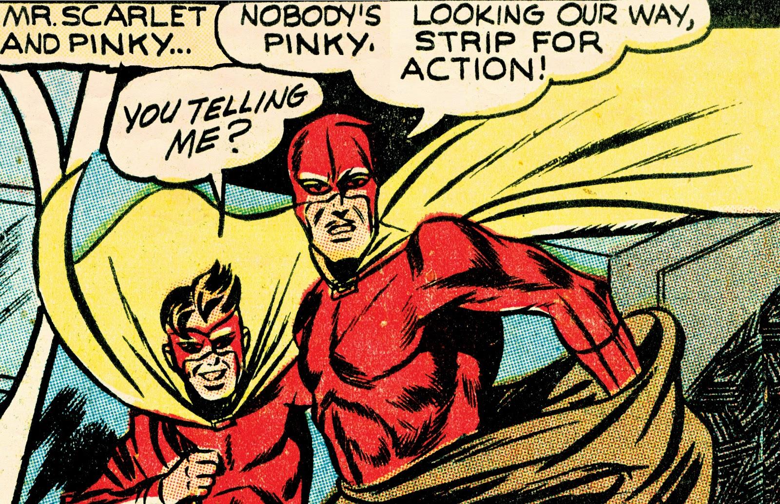 Read online Super Weird Heroes comic -  Issue # TPB 2 (Part 1) - 2