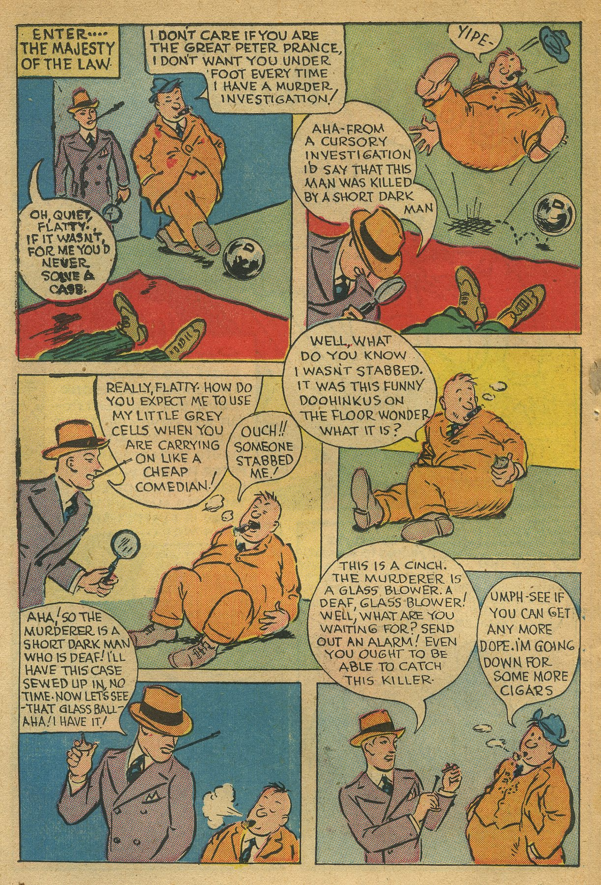 Read online Shadow Comics comic -  Issue #49 - 38