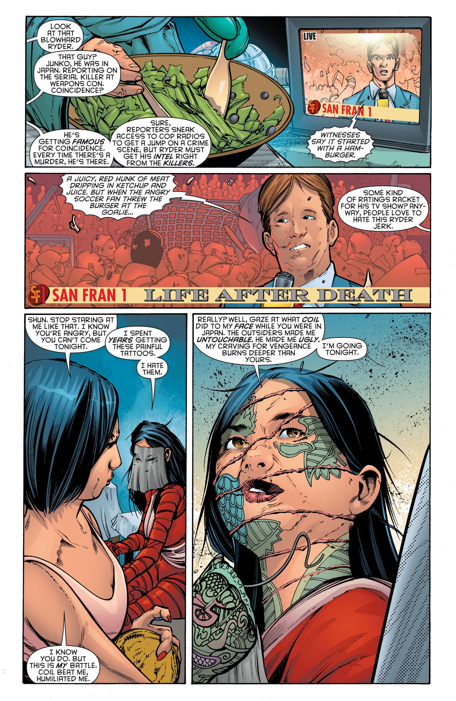 Read online Katana comic -  Issue #7 - 9