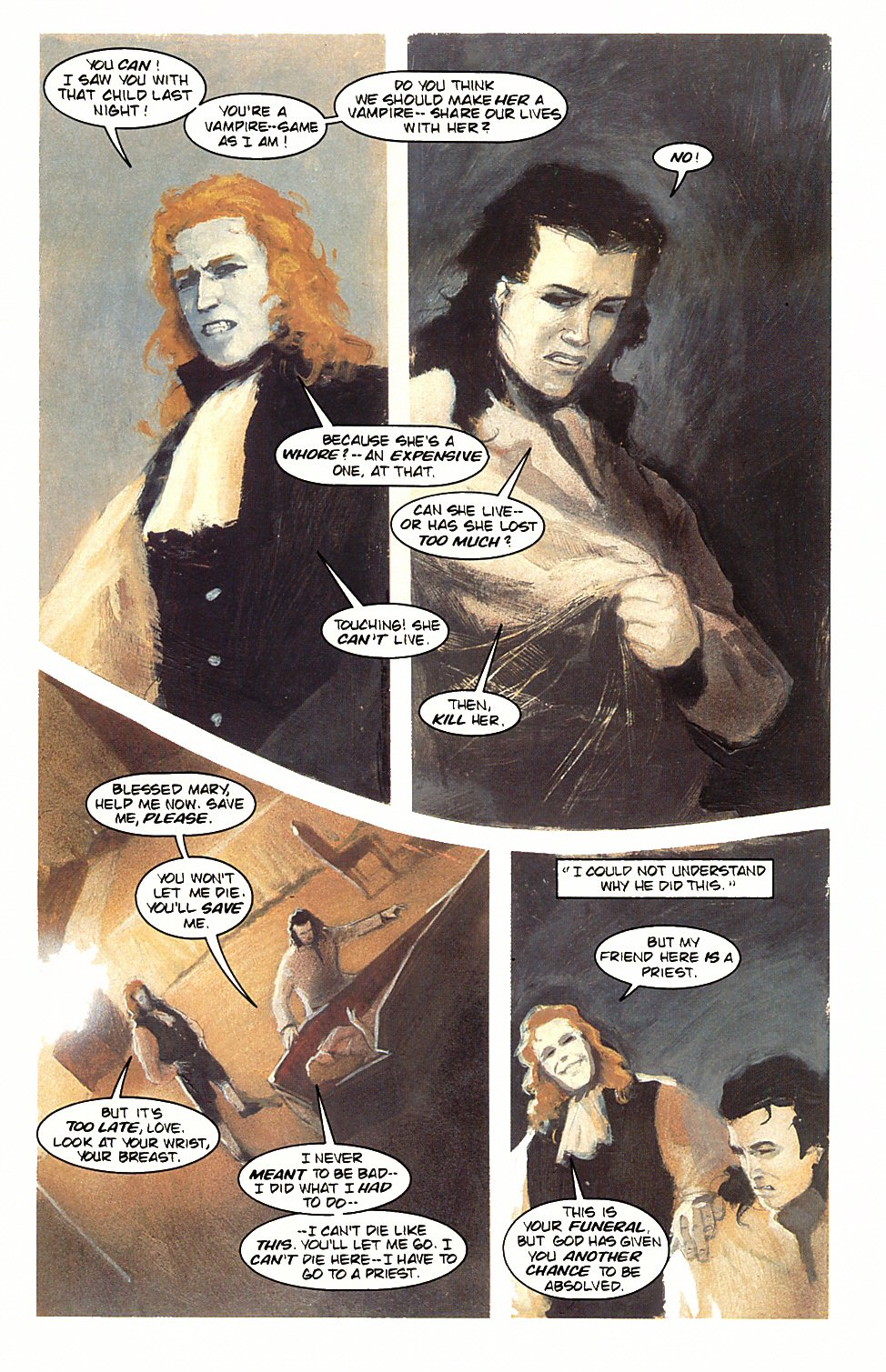 Read online Anne Rice's Interview with the Vampire comic -  Issue #3 - 23