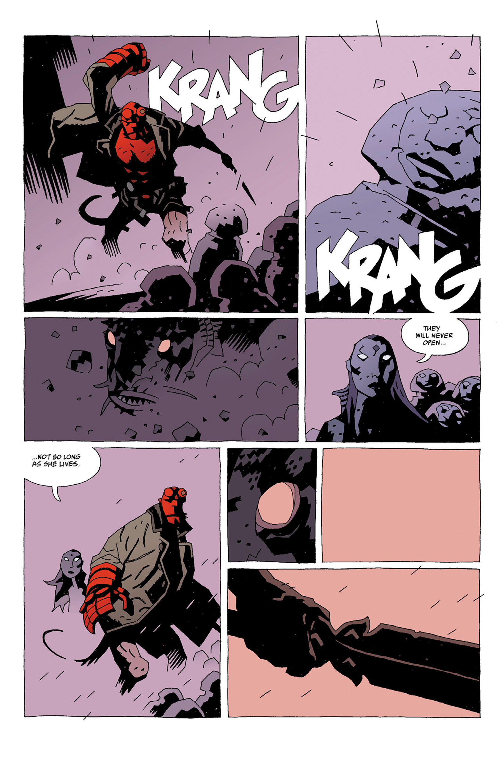 Read online Hellboy: Strange Places comic -  Issue # TPB - 60