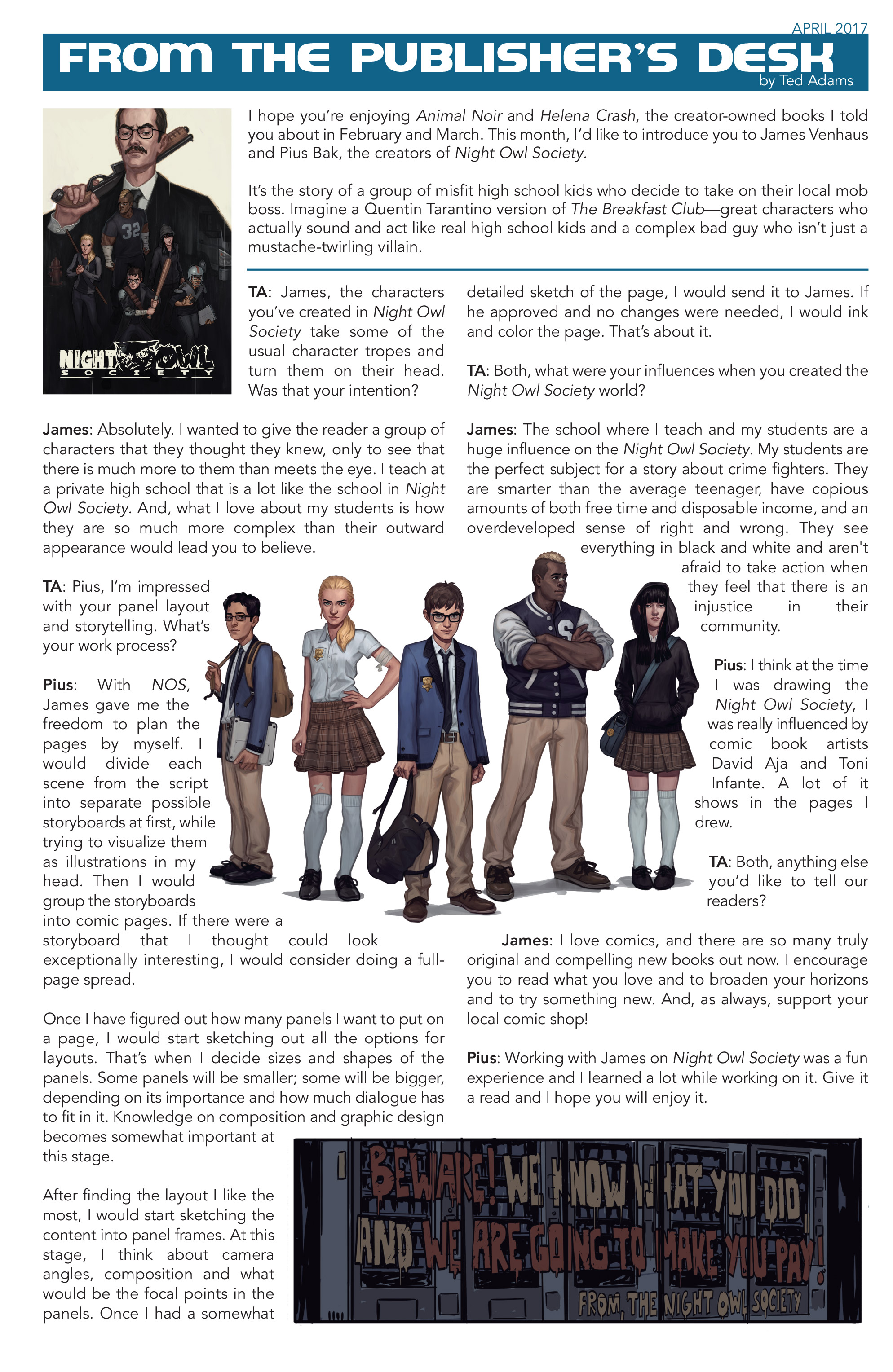 Read online D4VEocracy comic -  Issue #4 - 27