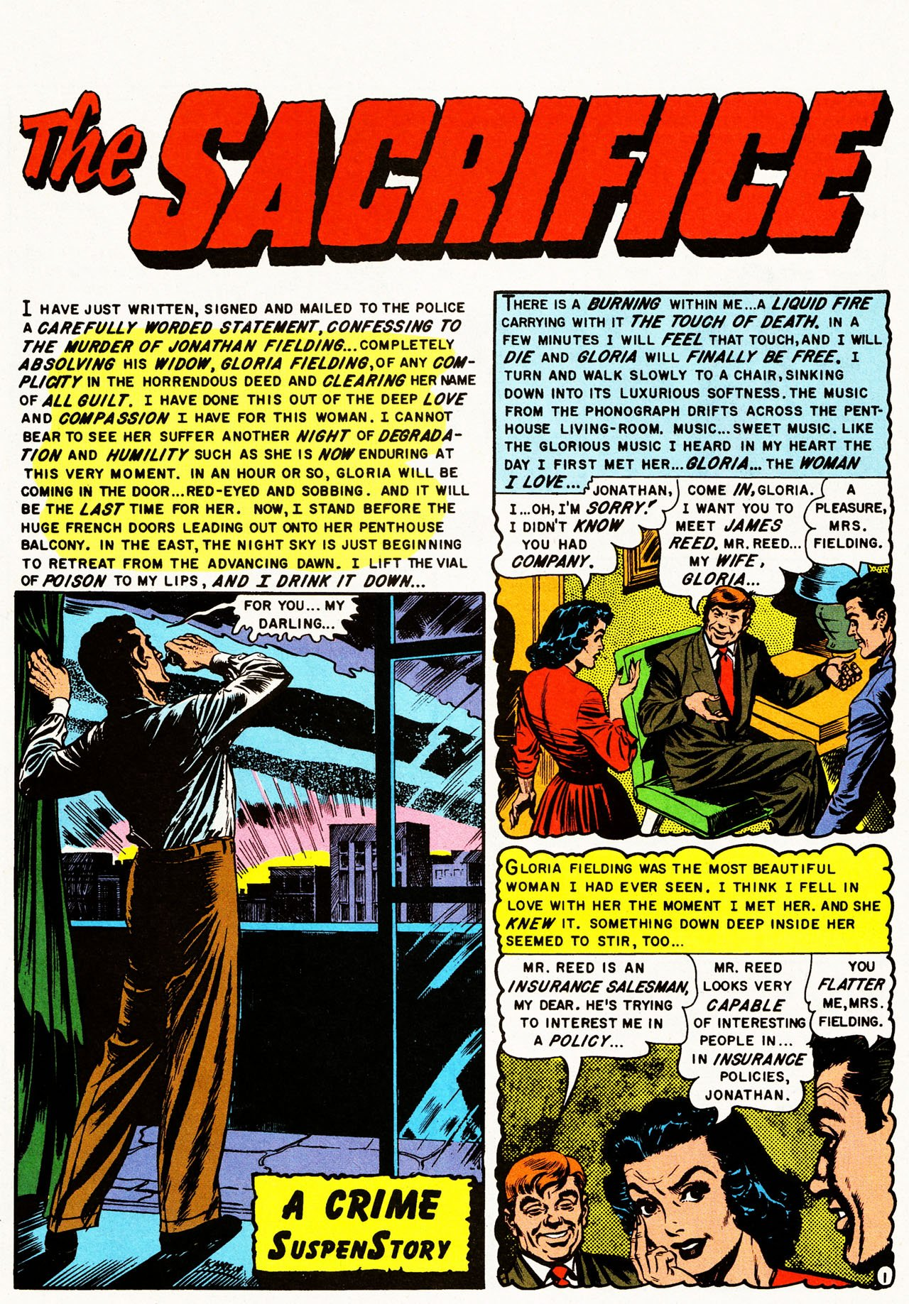 Read online Shock SuspenStories comic -  Issue #10 - 3