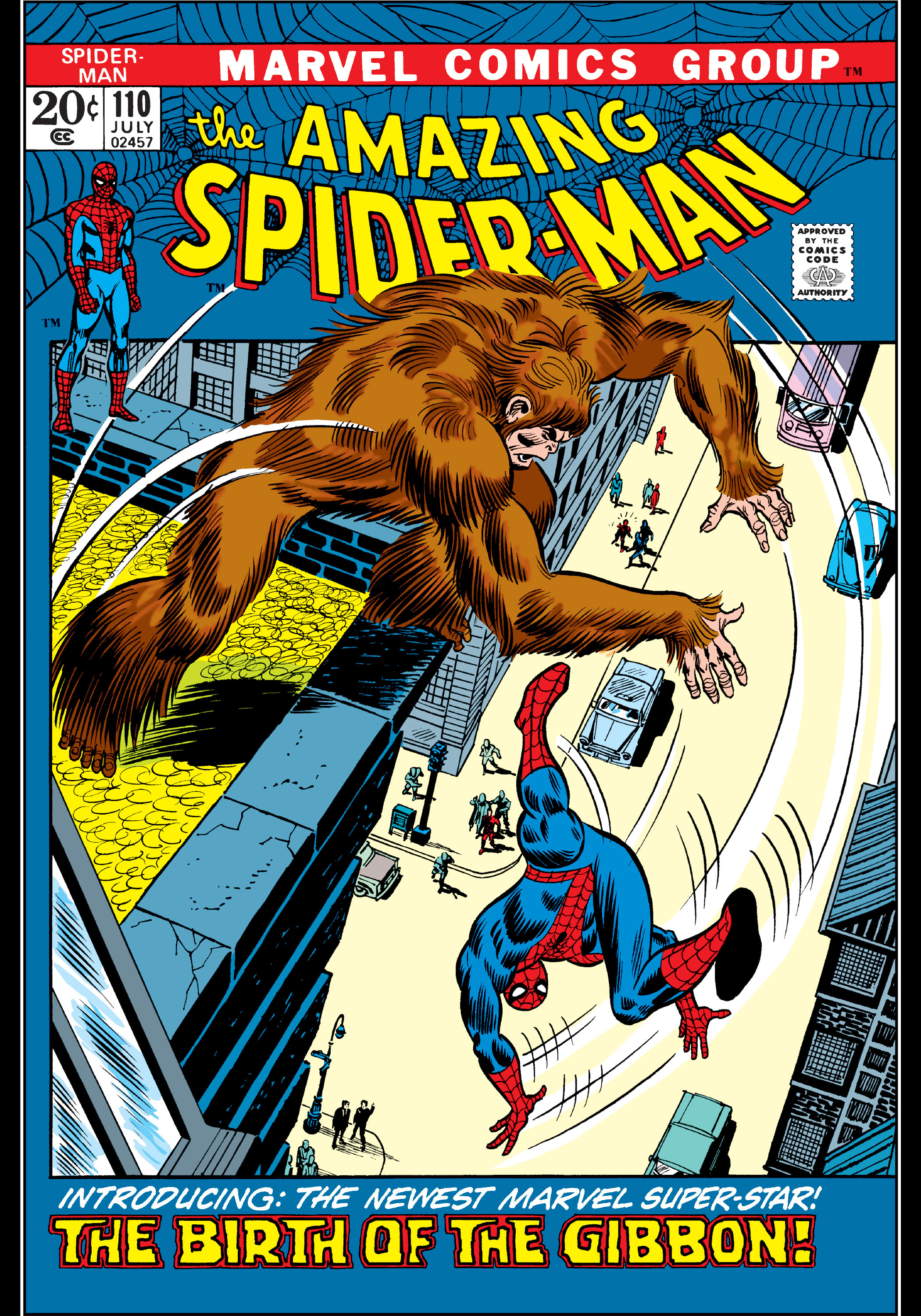 The Amazing Spider-Man (1963) 110 Page 0