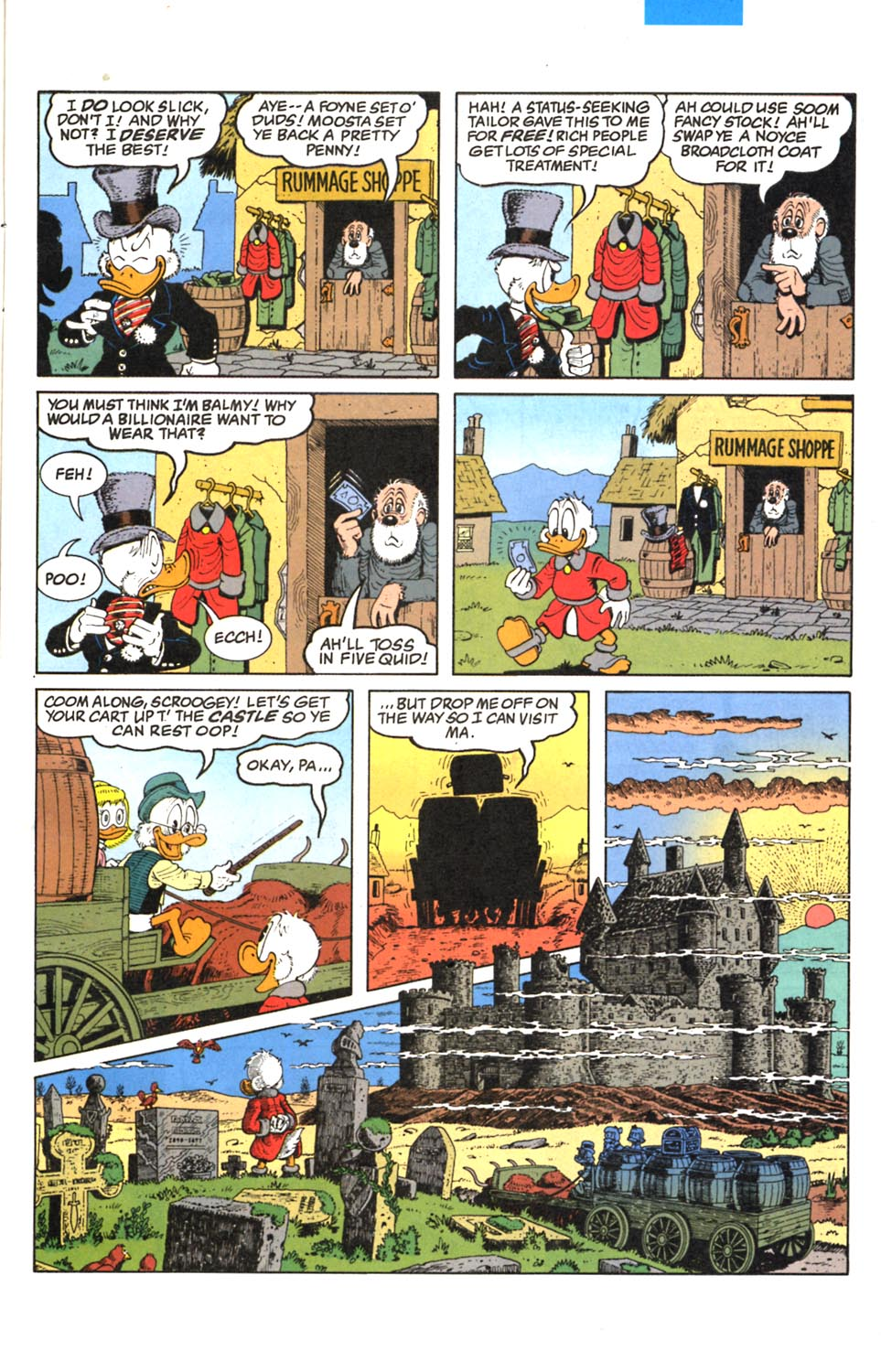 Read online Uncle Scrooge (1953) comic -  Issue #293 - 6