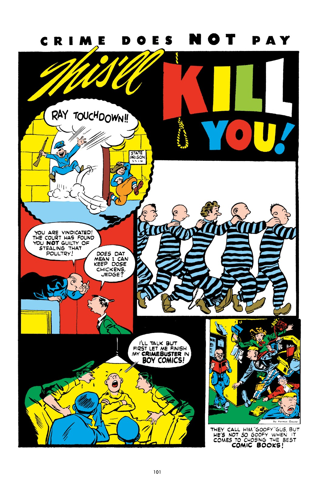 Read online Crime Does Not Pay Archives comic -  Issue # TPB 2 (Part 2) - 1