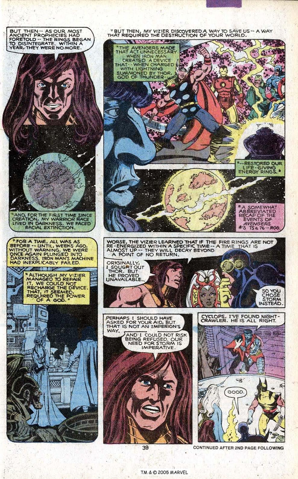 Read online Uncanny X-Men (1963) comic -  Issue # _Annual 3 - 41
