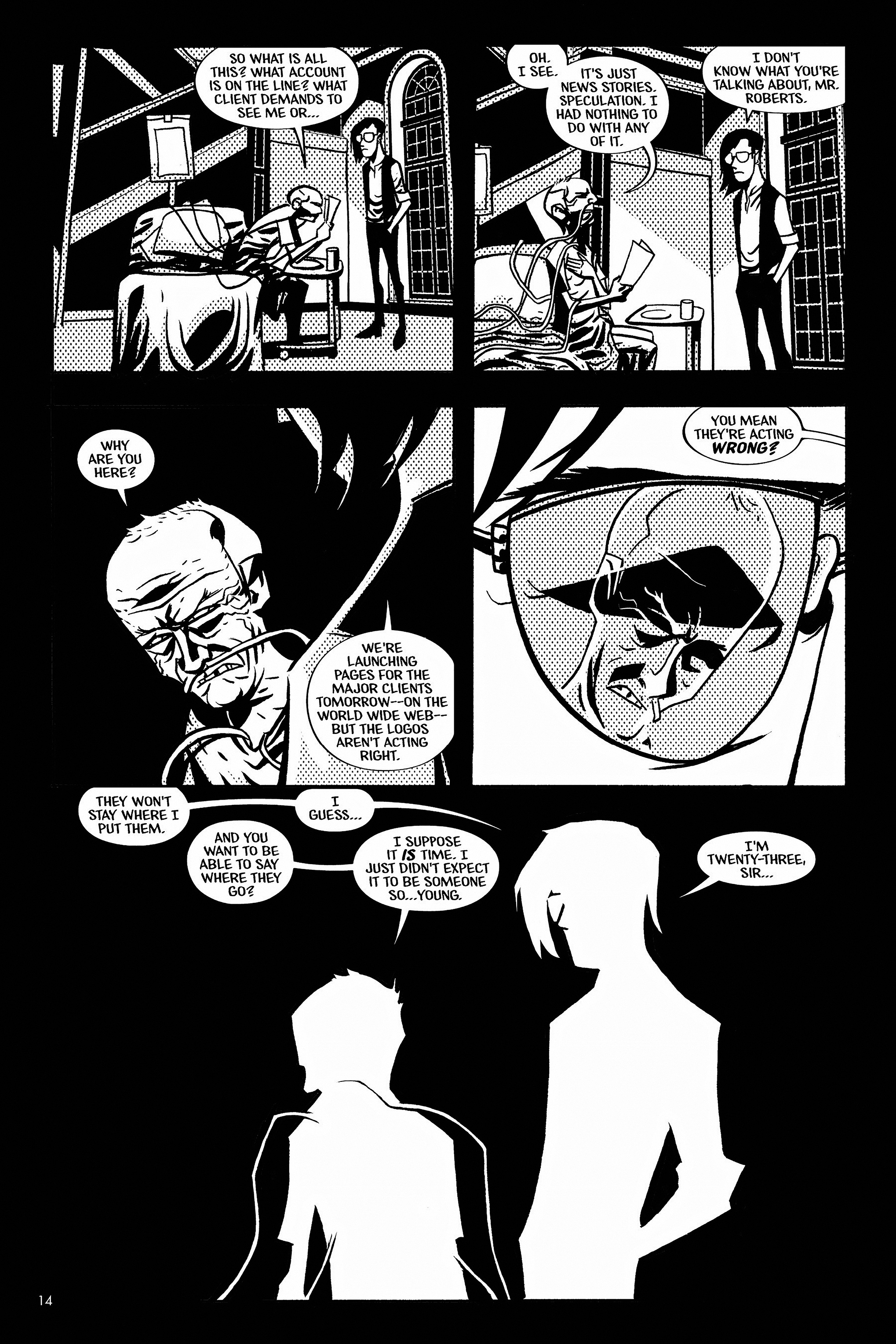 Read online Aleister & Adolf comic -  Issue # TPB - 14