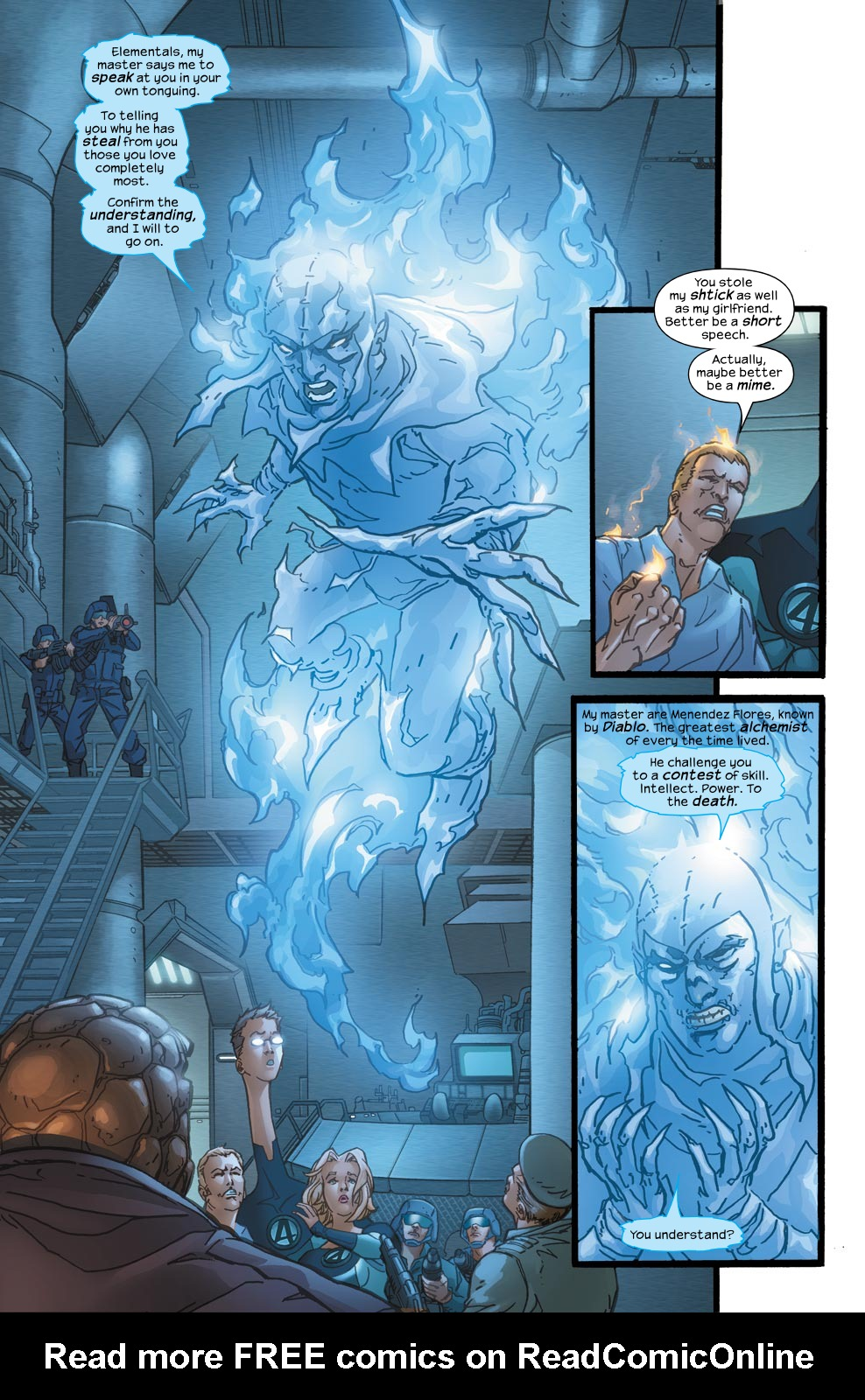 Read online Ultimate Fantastic Four (2004) comic -  Issue #39 - 20