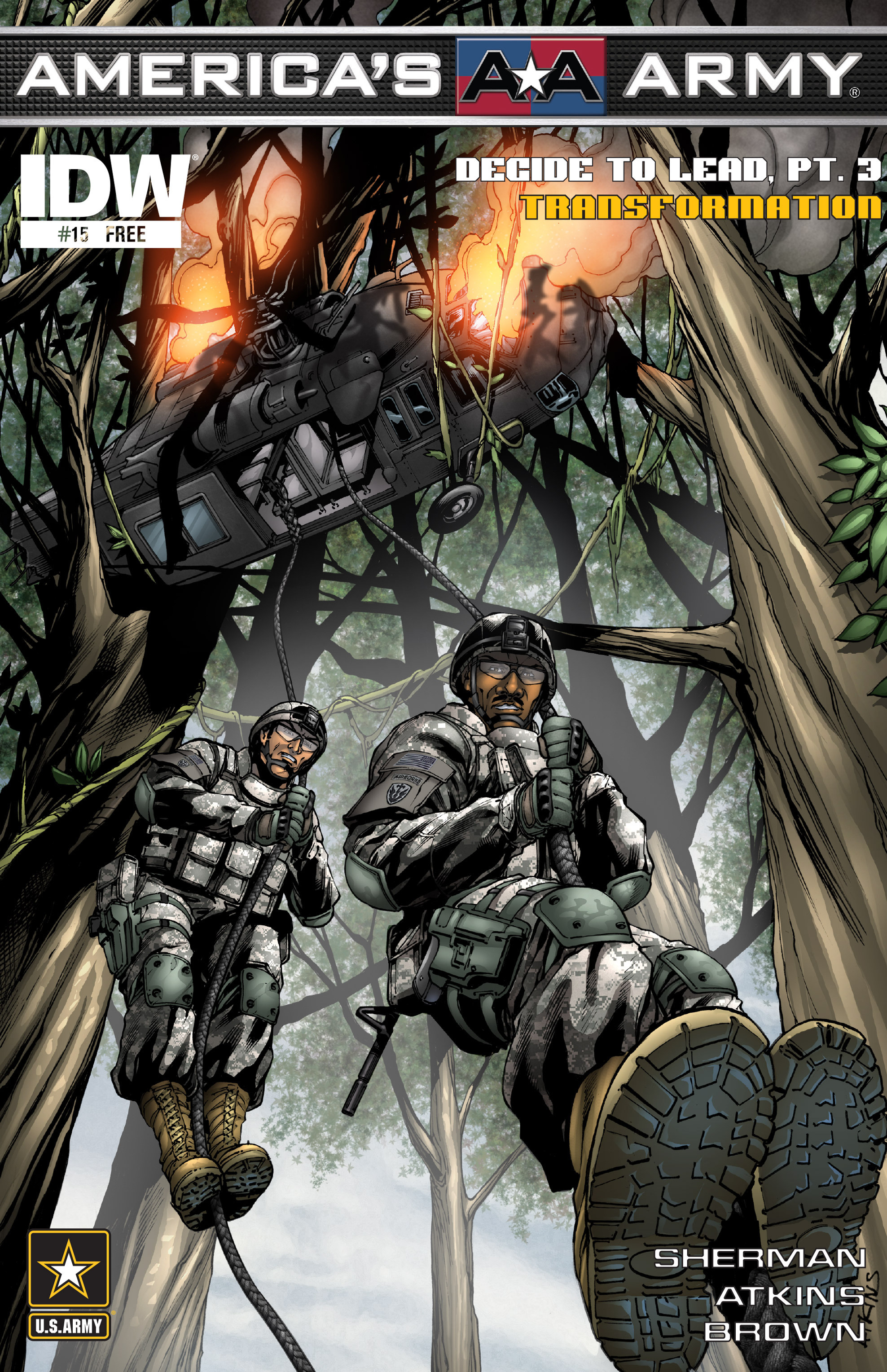 Read online America's Army comic -  Issue #15 - 1