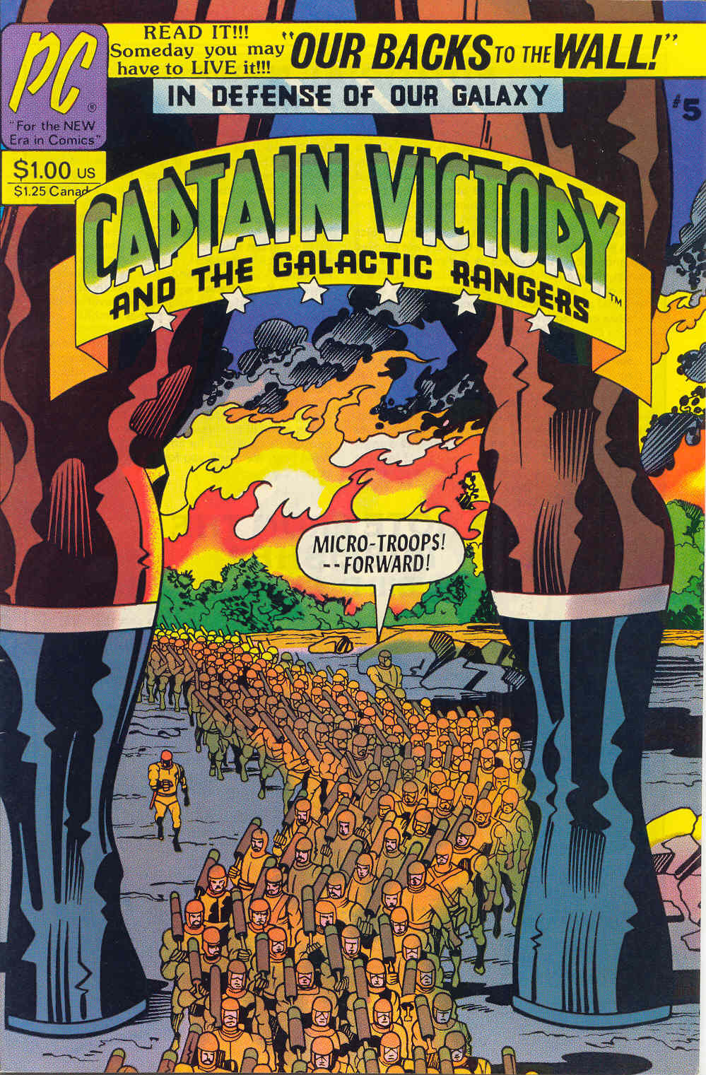 Captain Victory and the Galactic Rangers (1981) 5 Page 1