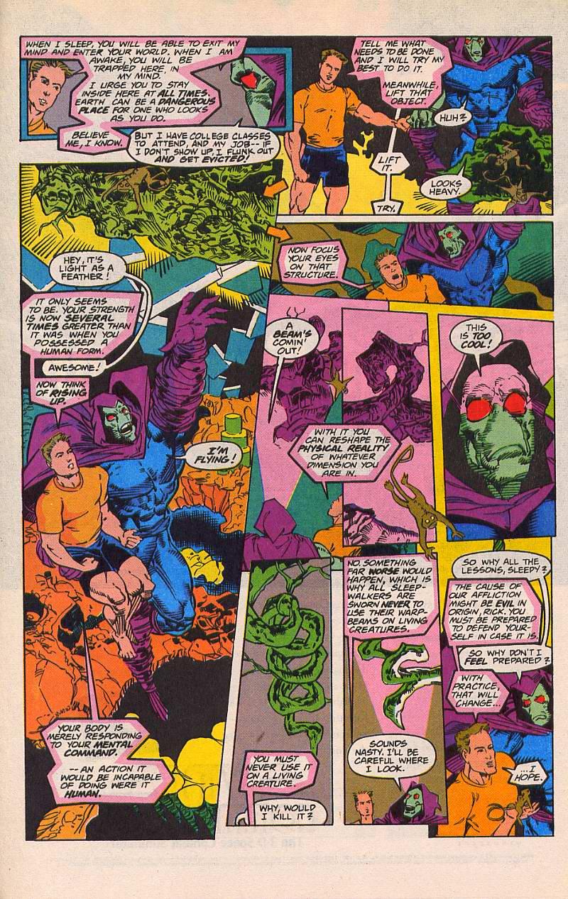 Read online Sleepwalker comic -  Issue #21 - 7