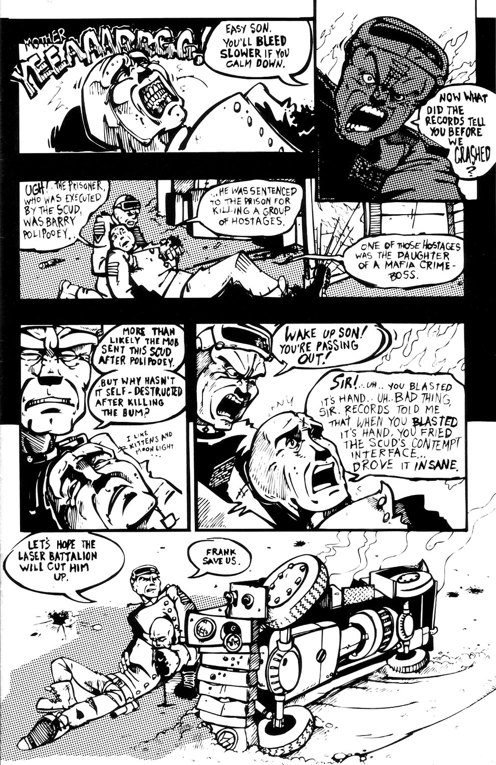 Read online Scud: The Disposable Assassin (1994) comic -  Issue #3 - 3