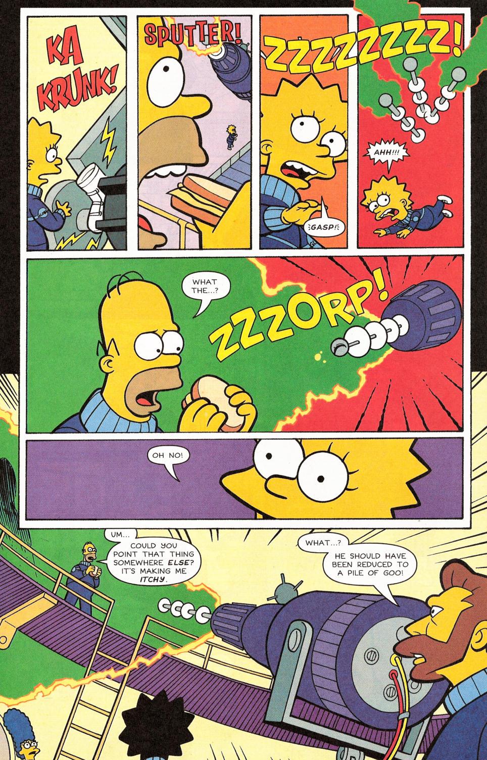 Read online Simpsons Comics comic -  Issue #117 - 24