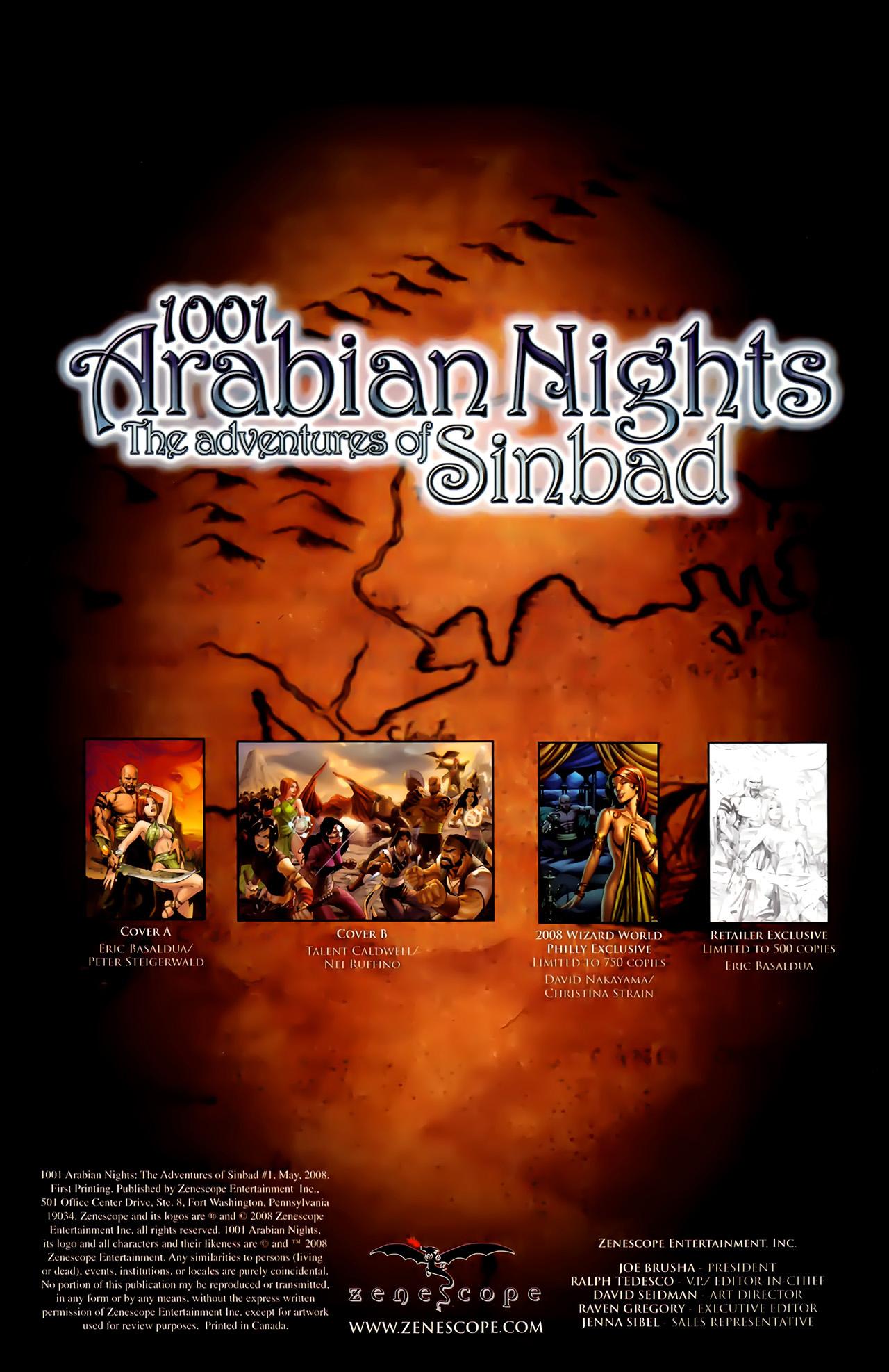 Read online 1001 Arabian Nights: The Adventures of Sinbad comic -  Issue #1 - 5