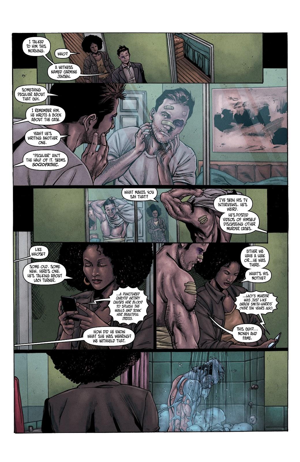 Read online Vindication comic -  Issue #3 - 23