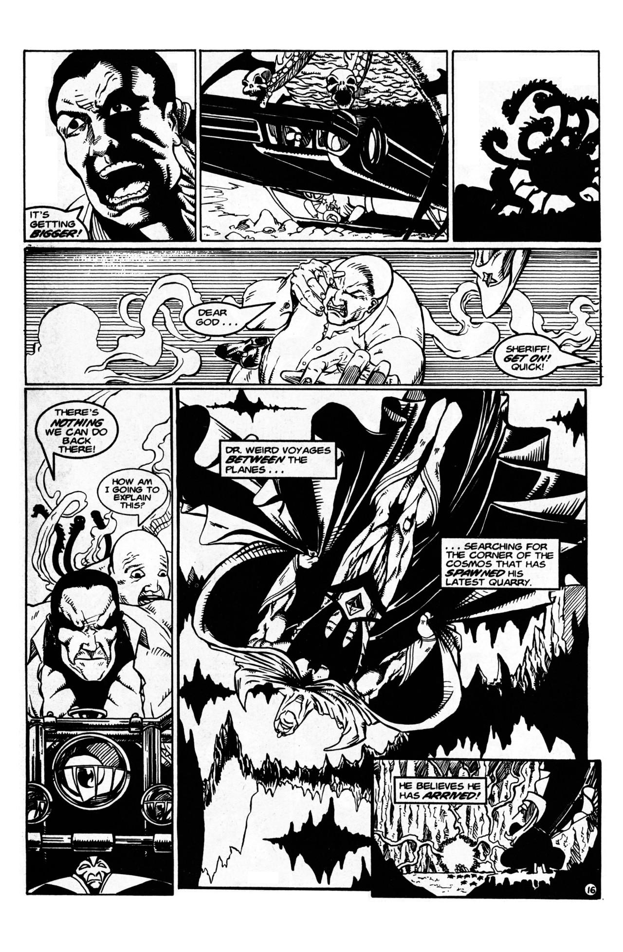 Read online Dr. Weird (1997) comic -  Issue #1 - 18