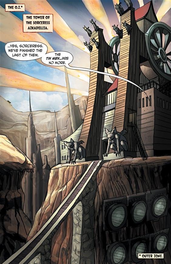Read online Tin Man comic -  Issue # Full - 3