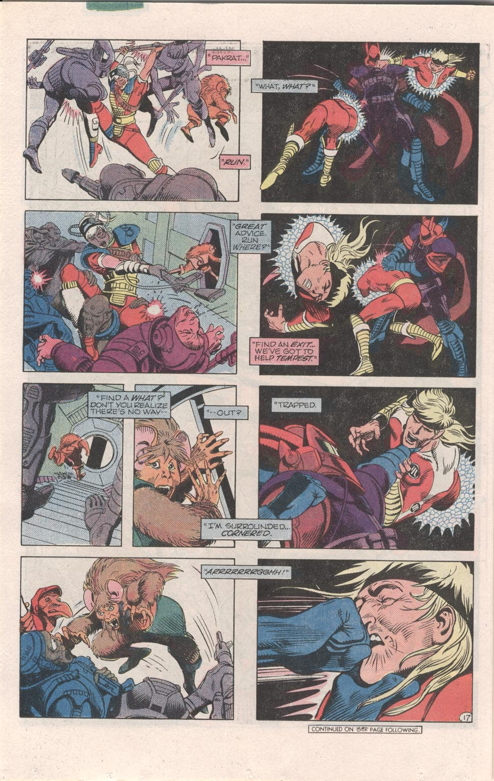 Read online Atari Force (1984) comic -  Issue #6 - 19