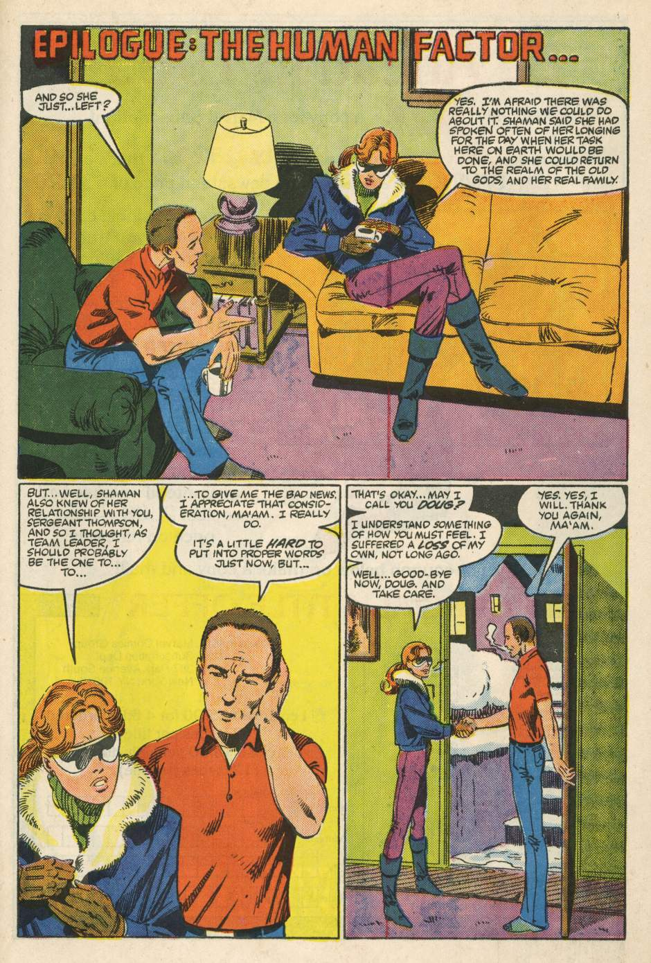 Read online Alpha Flight (1983) comic -  Issue #24 - 36