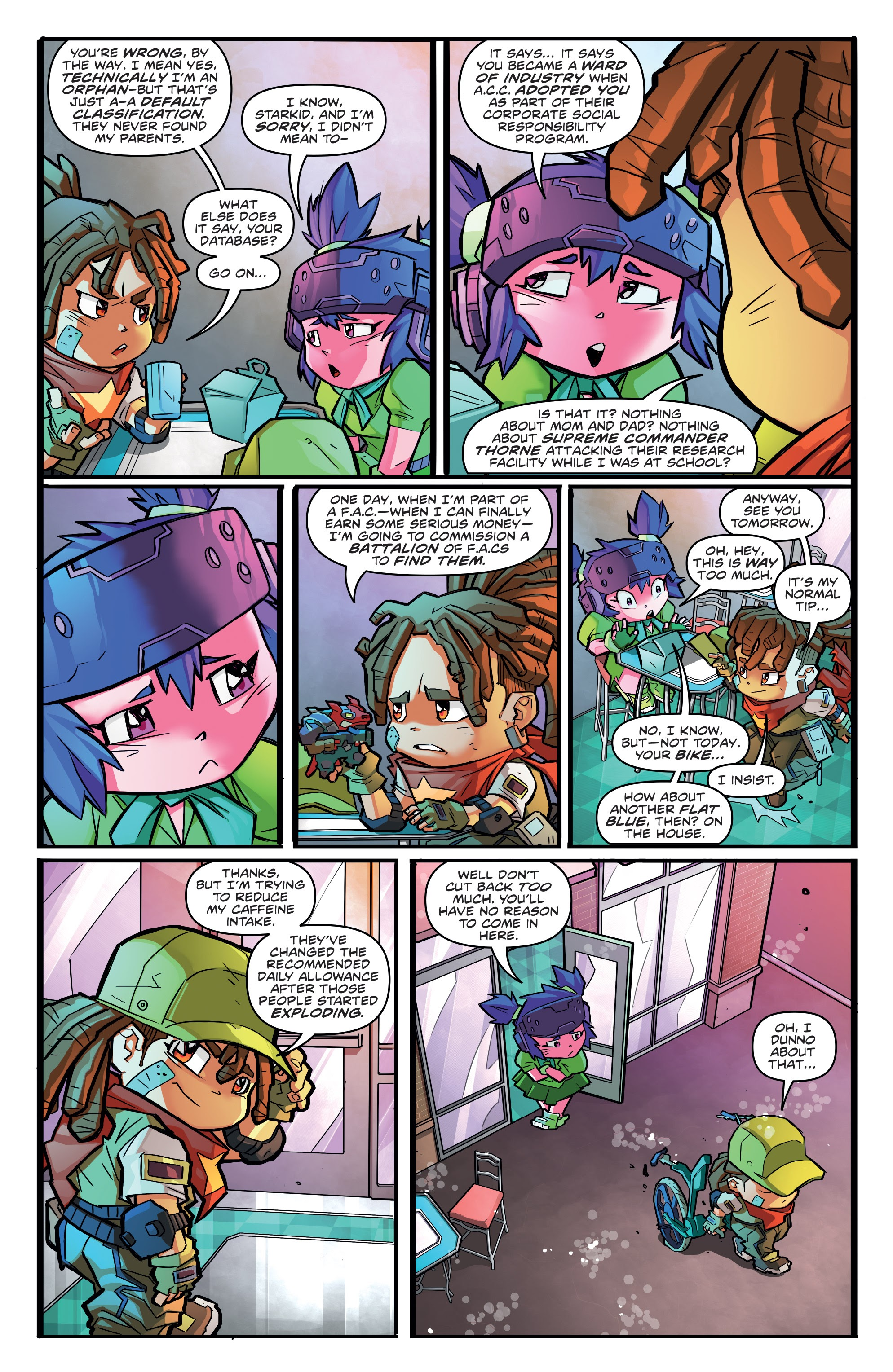 Read online Starcadia Quest comic -  Issue #1 - 10