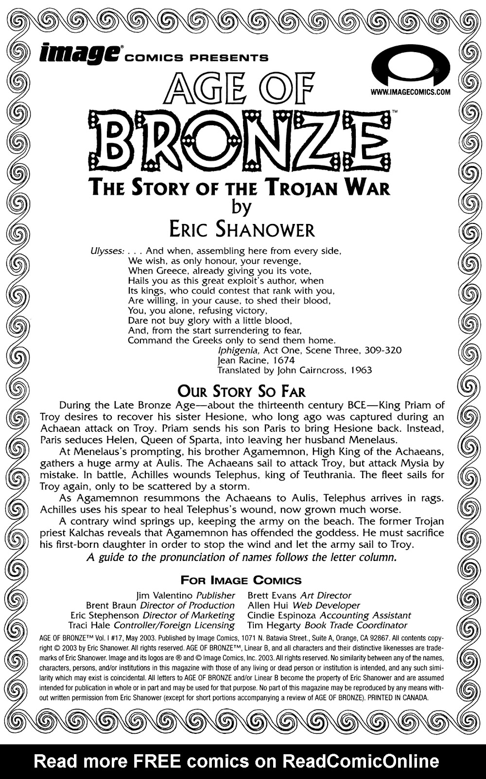 Age of Bronze issue 17 - Page 2