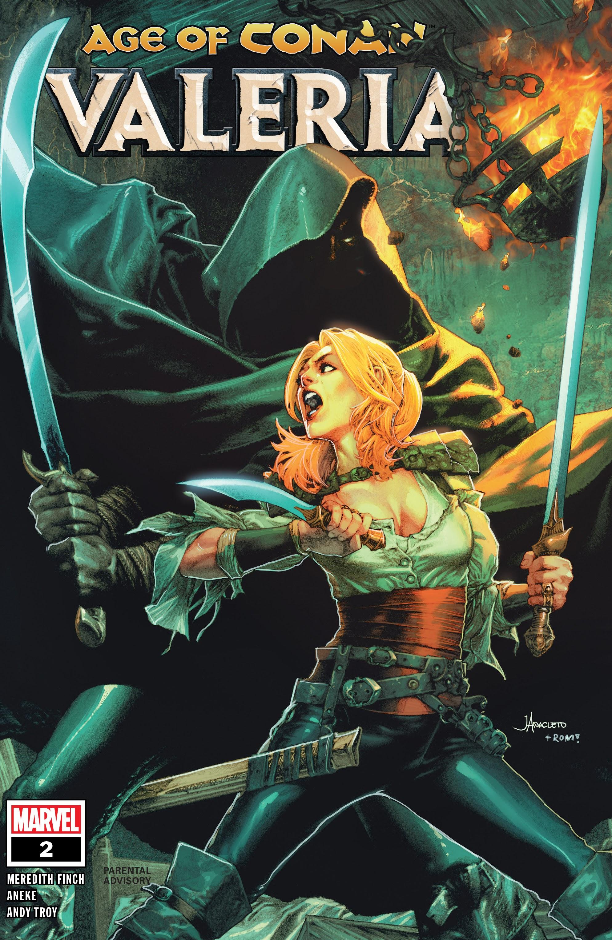 Age of Conan: Valeria 2 Page 1