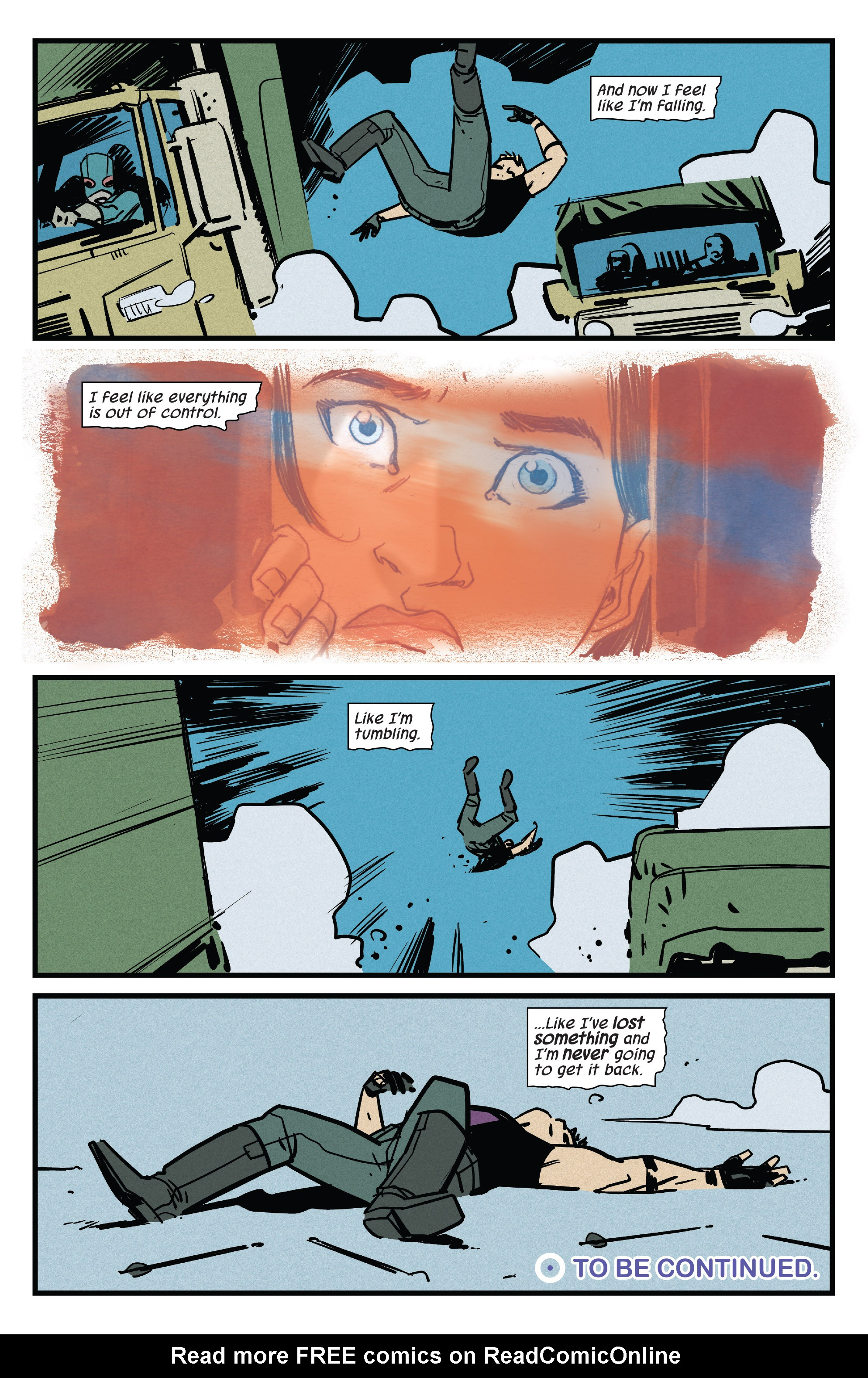 Read online All-New Hawkeye (2016) comic -  Issue #4 - 19