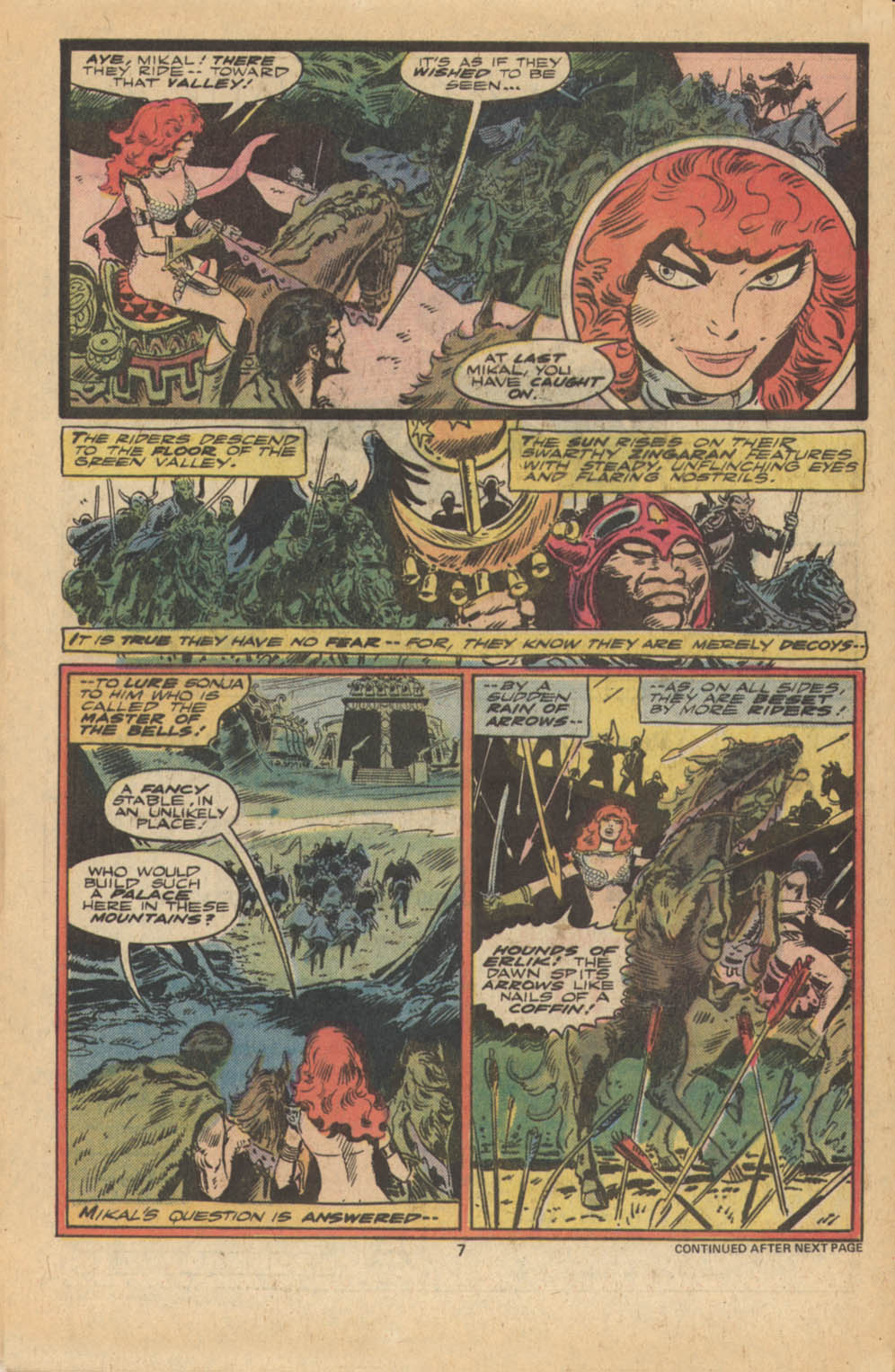 Red Sonja (1977) issue 5 - Page 6