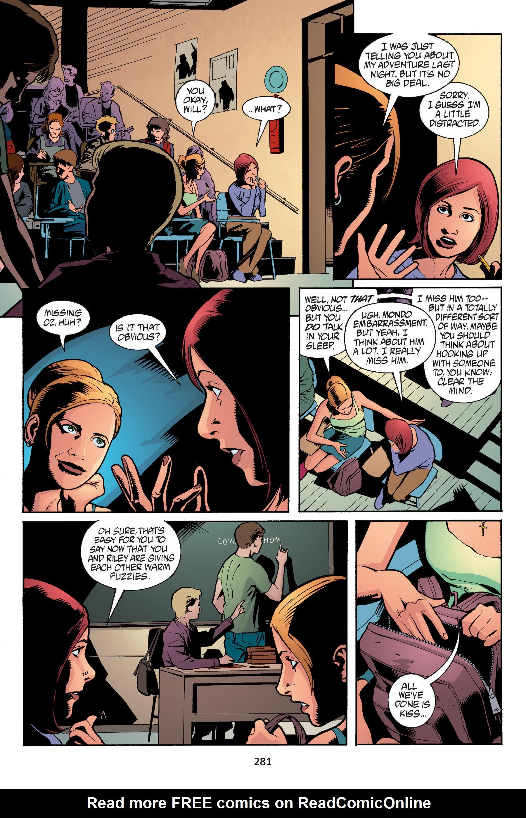 Read online Buffy the Vampire Slayer: Omnibus comic -  Issue # TPB 5 - 280
