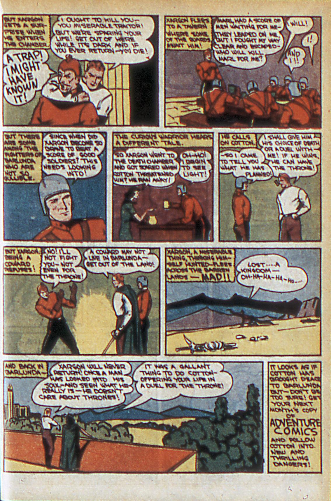 Read online Adventure Comics (1938) comic -  Issue #60 - 38