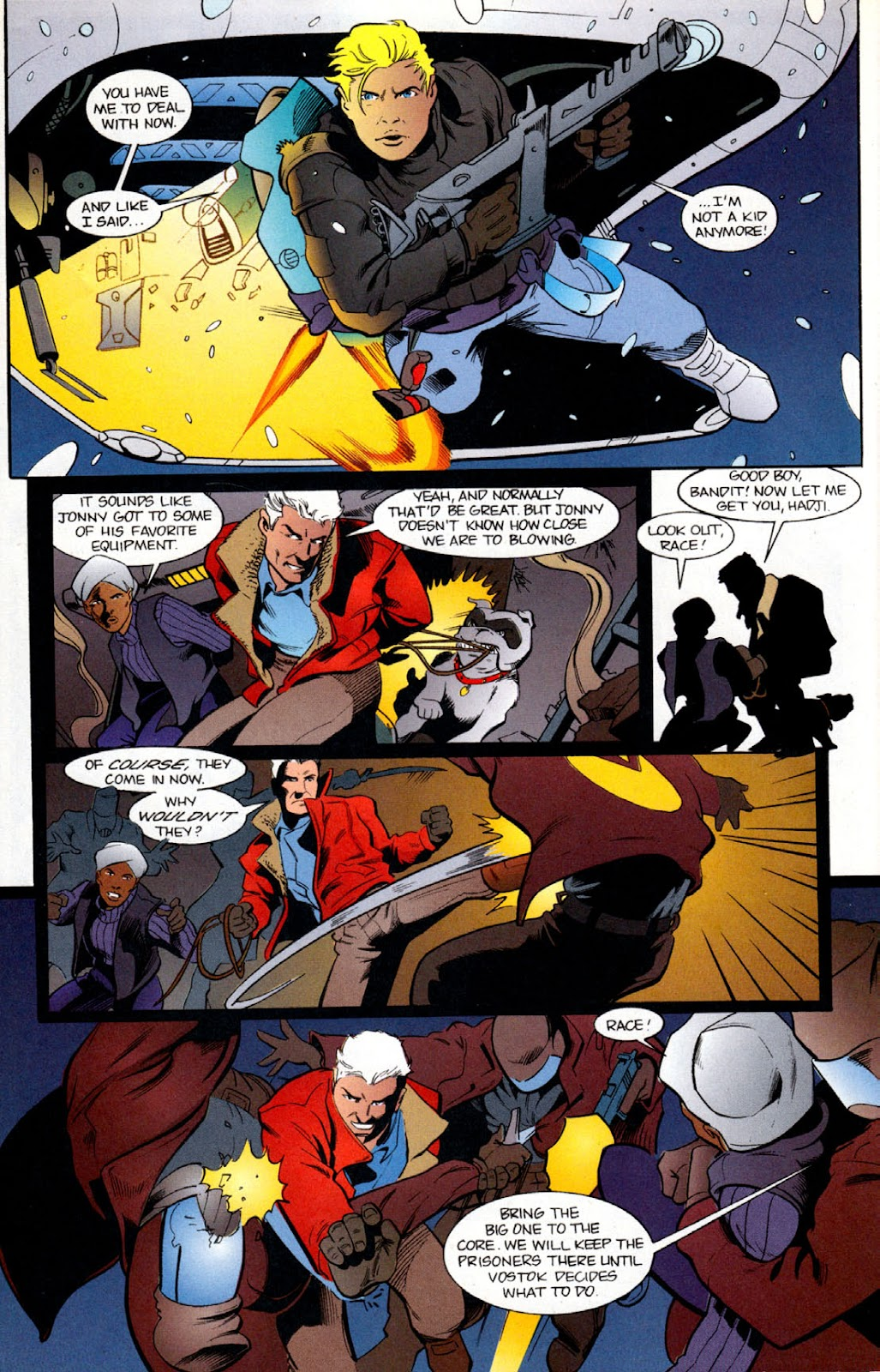 Read online The Real Adventures of Jonny Quest comic -  Issue #6 - 14