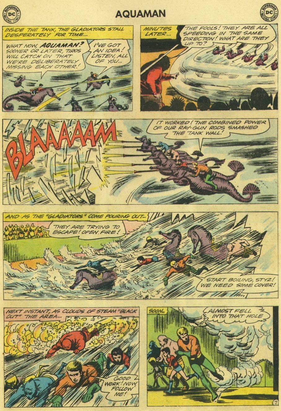 Read online Aquaman (1962) comic -  Issue #12 - 25