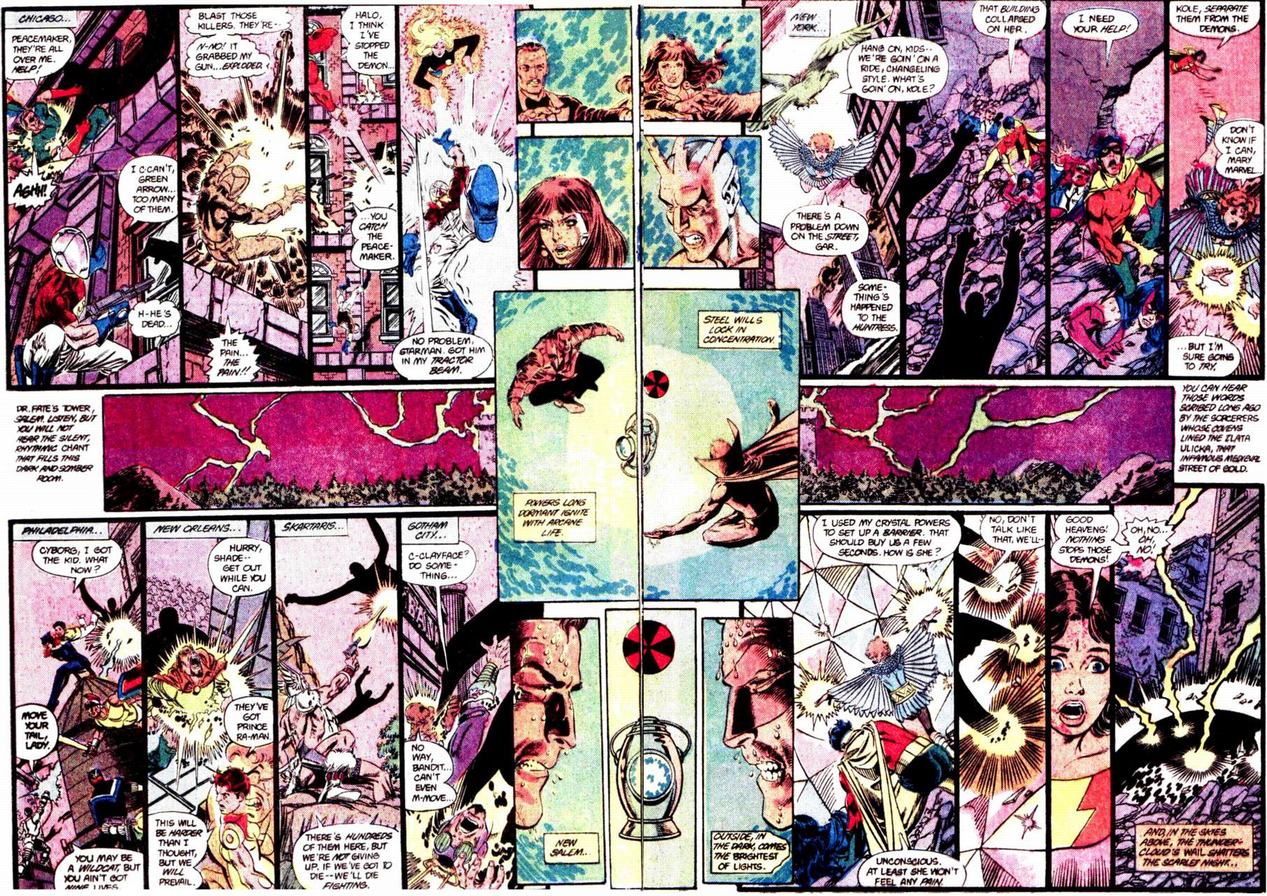 Crisis on Infinite Earths (1985) 12 Page 22
