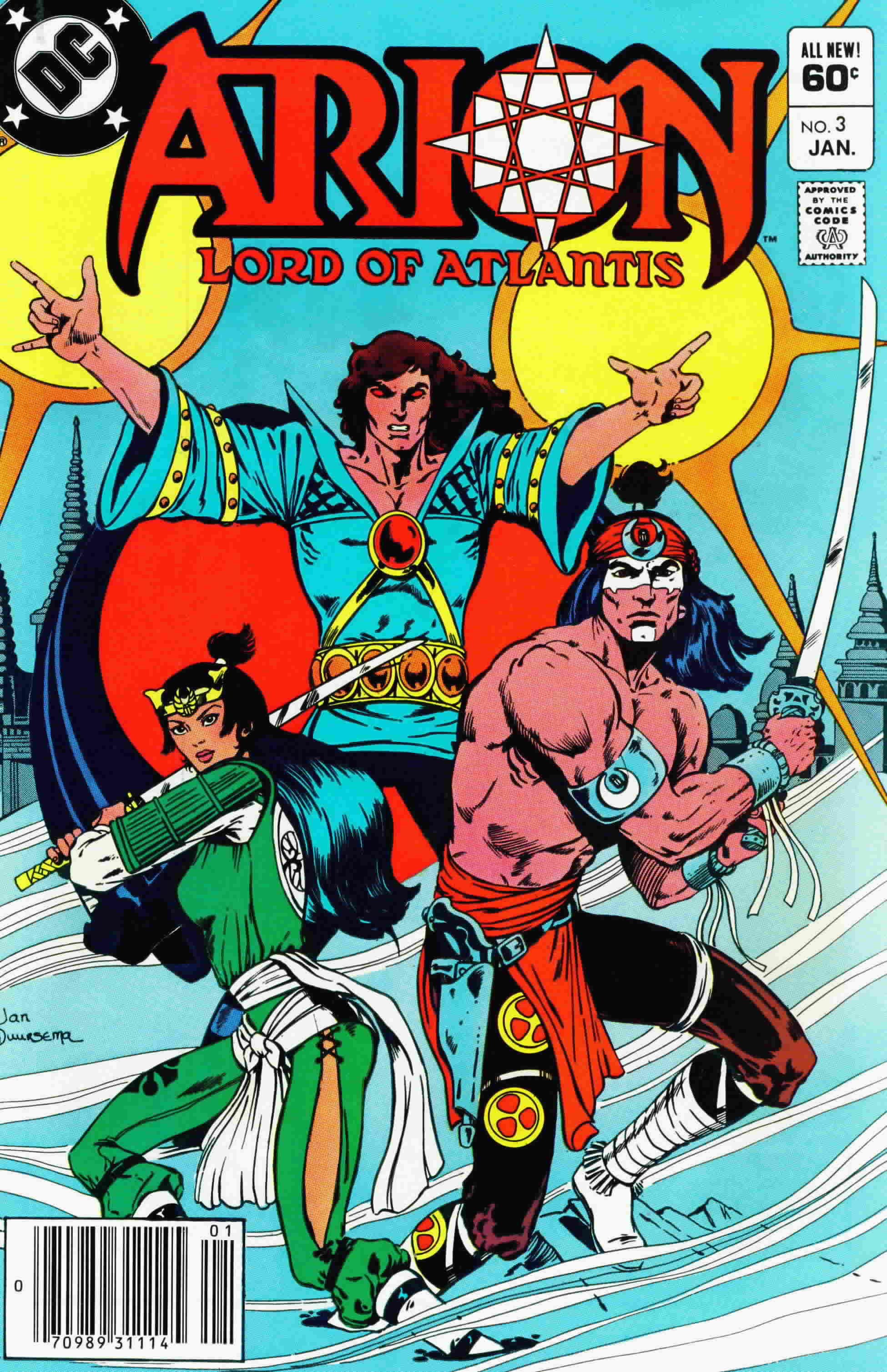 Read online Arion, Lord of Atlantis comic -  Issue #3 - 1