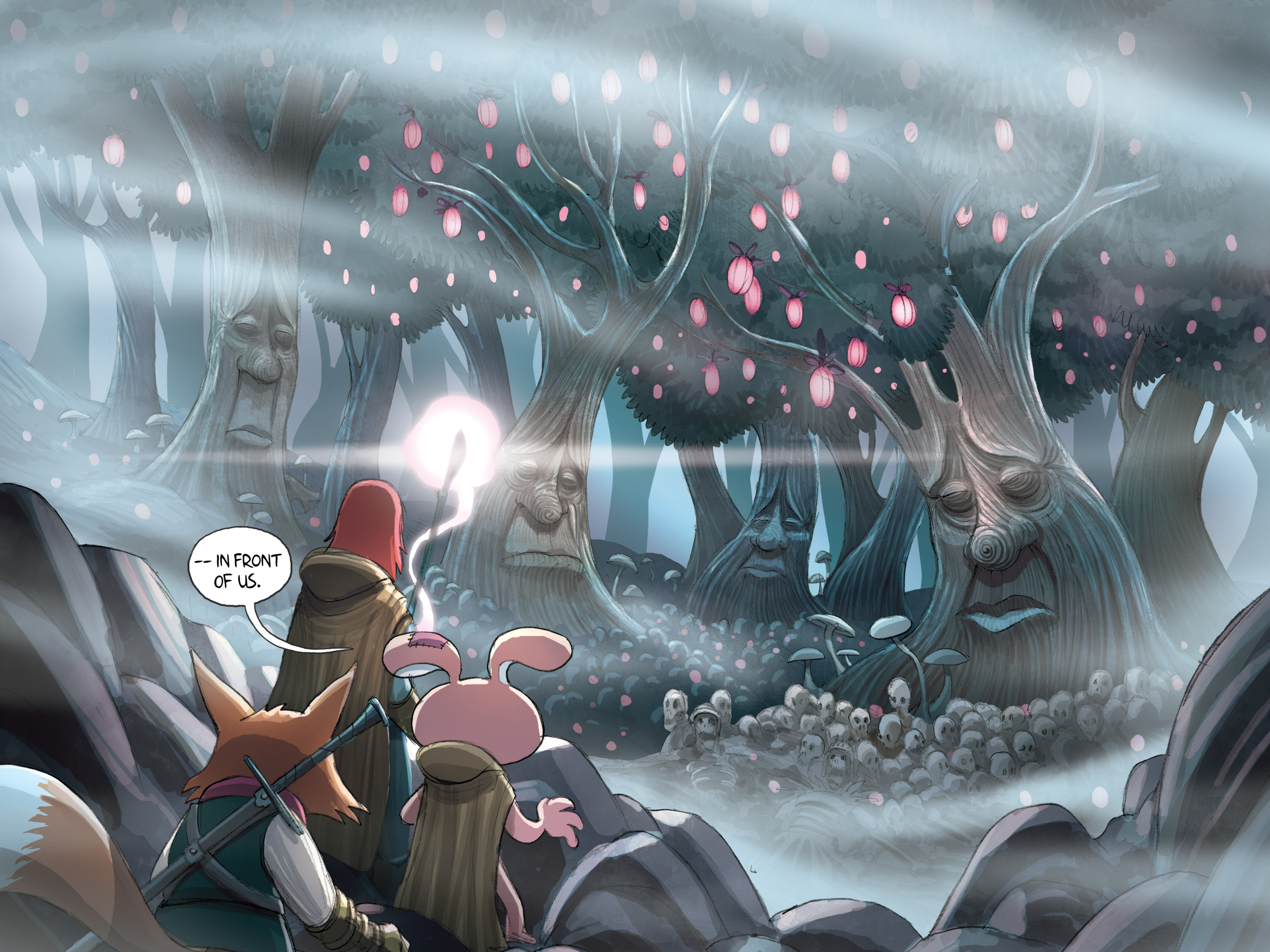 Read online Amulet comic -  Issue #2 - 132
