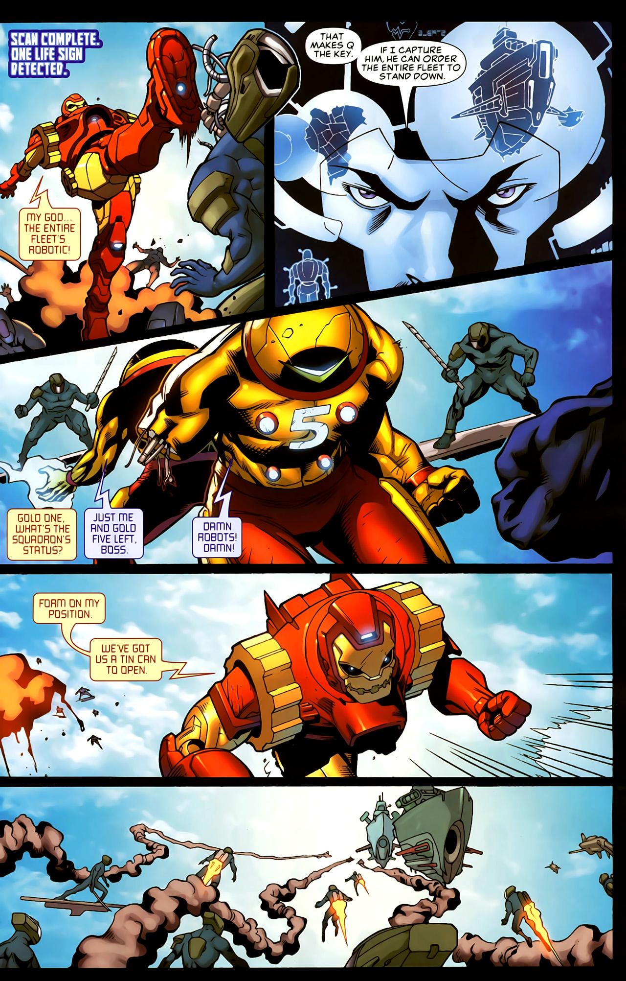 Read online Astonishing Tales (2009) comic -  Issue #5 - 14