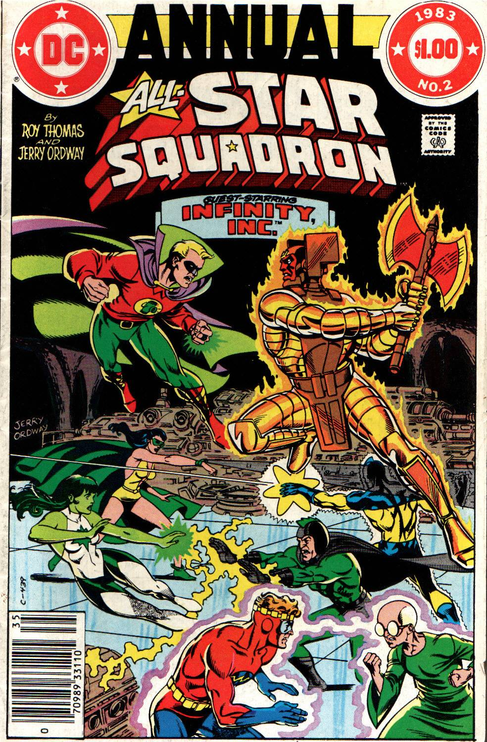 Read online All-Star Squadron comic -  Issue # _Annual 2 - 1