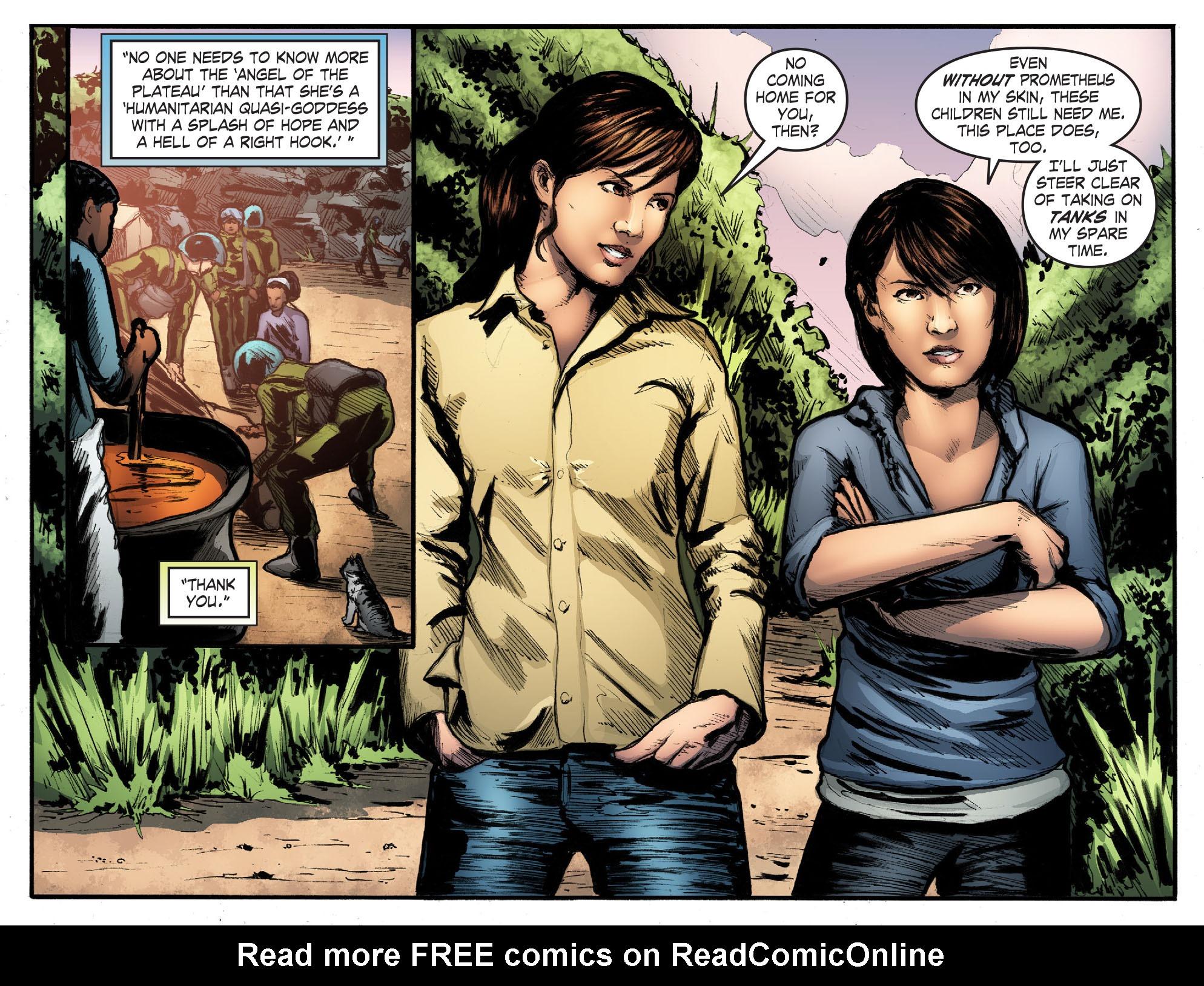 Read online Smallville: Season 11 comic -  Issue #50 - 20