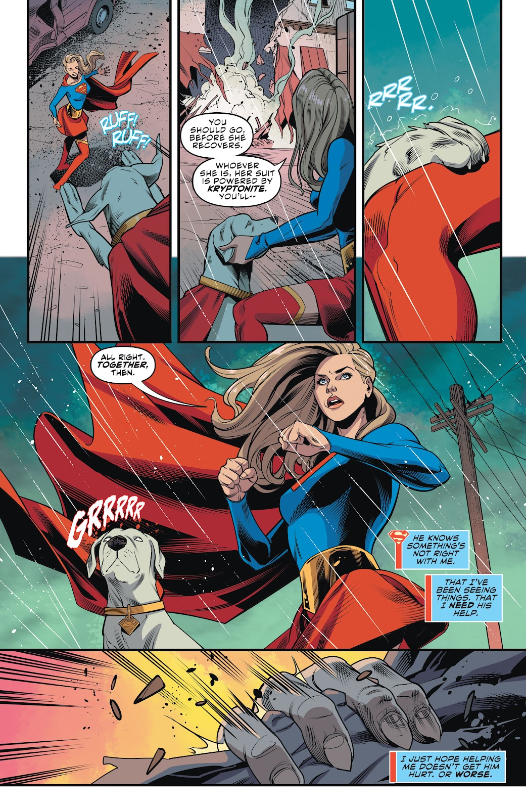 Read online Supergirl (2016) comic -  Issue #42 - 8