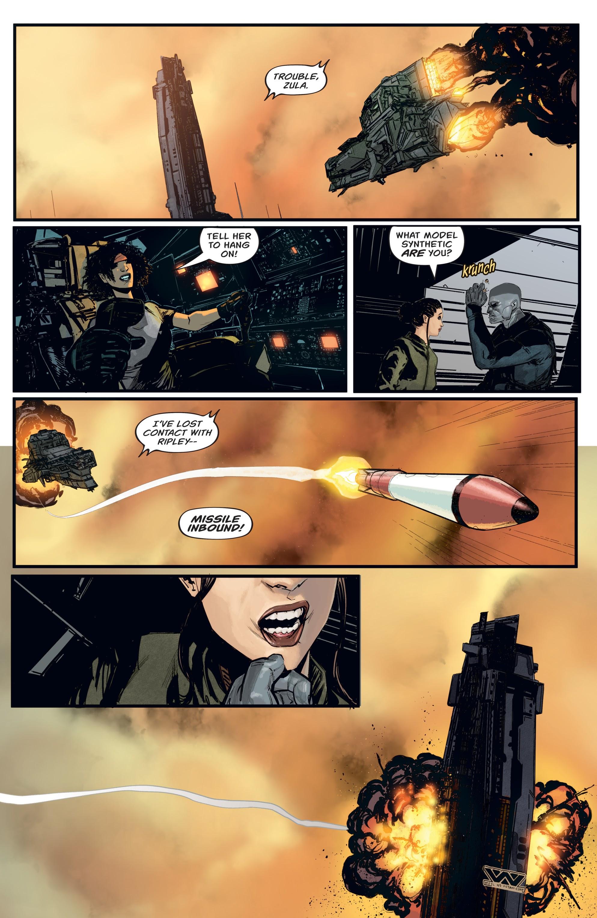 Read online Aliens: Resistance comic -  Issue # _TPB - 17