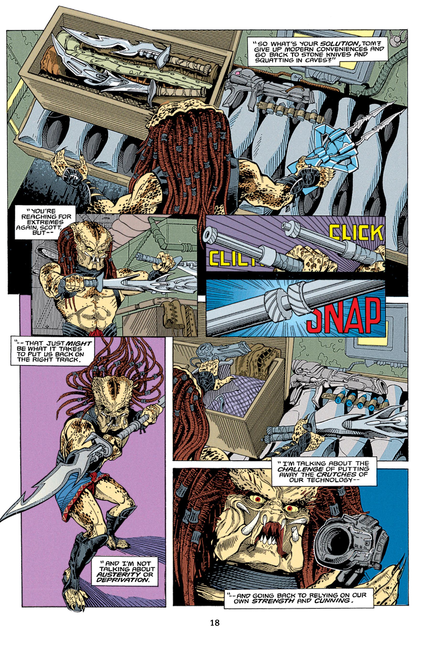 Read online Aliens vs. Predator Omnibus comic -  Issue # _TPB 1 Part 1 - 18