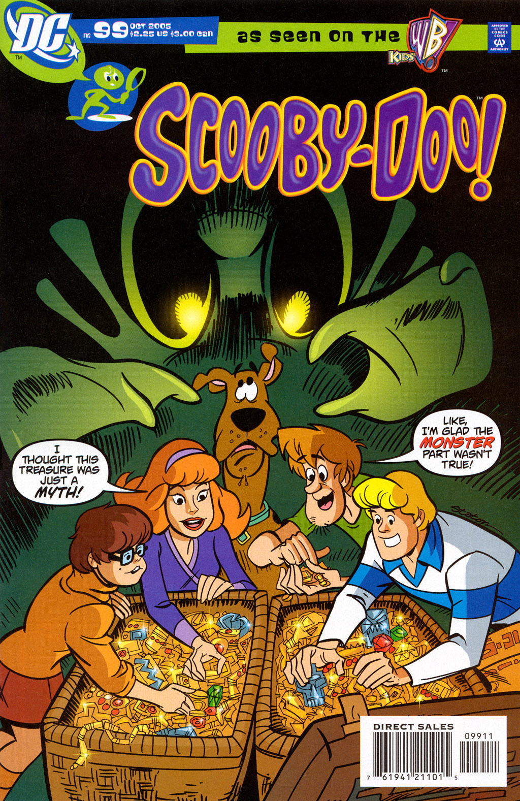 Read online Scooby-Doo (1997) comic -  Issue #99 - 1