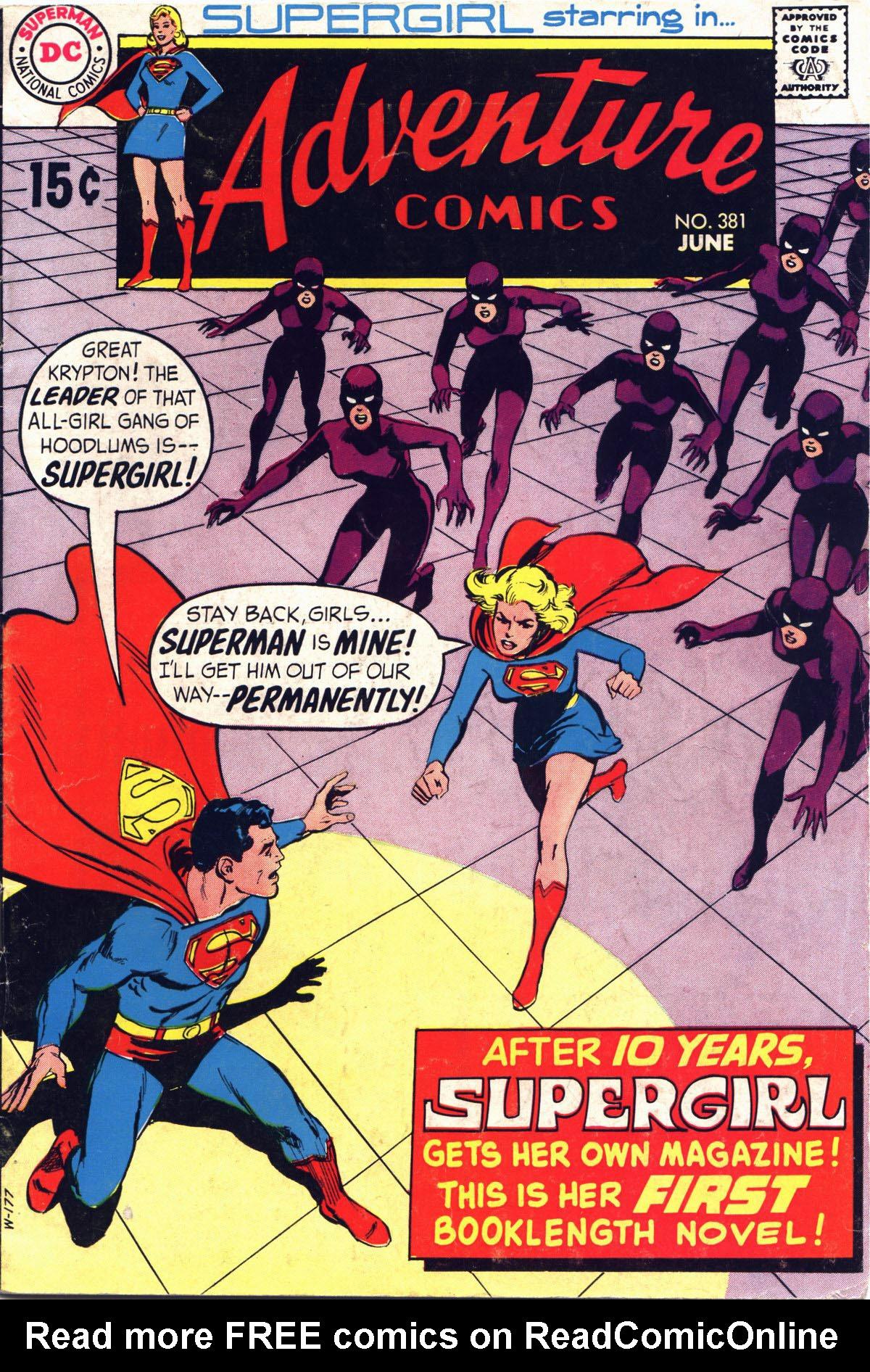 Read online Adventure Comics (1938) comic -  Issue #381 - 1