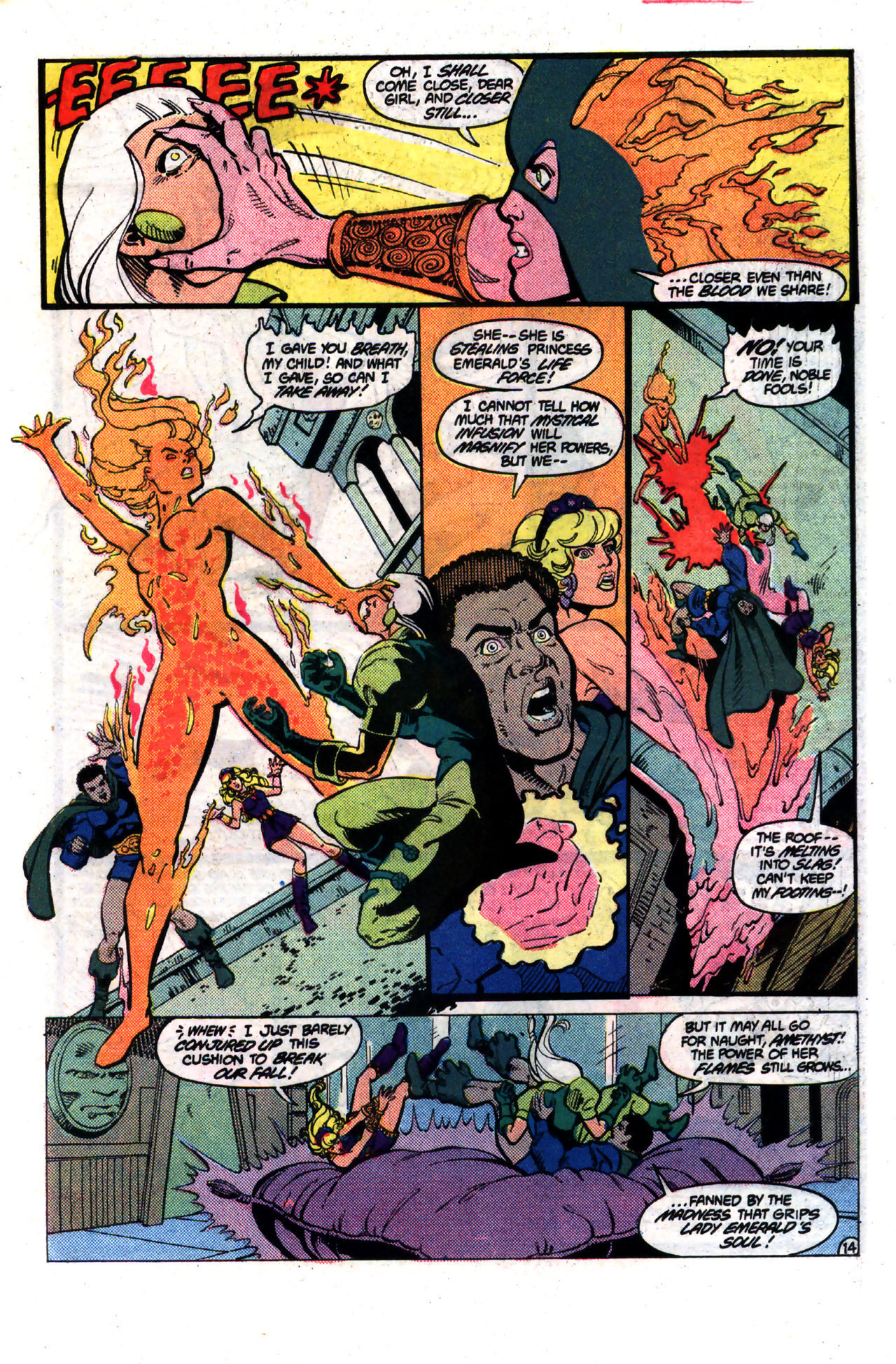 Read online Amethyst (1985) comic -  Issue #8 - 14