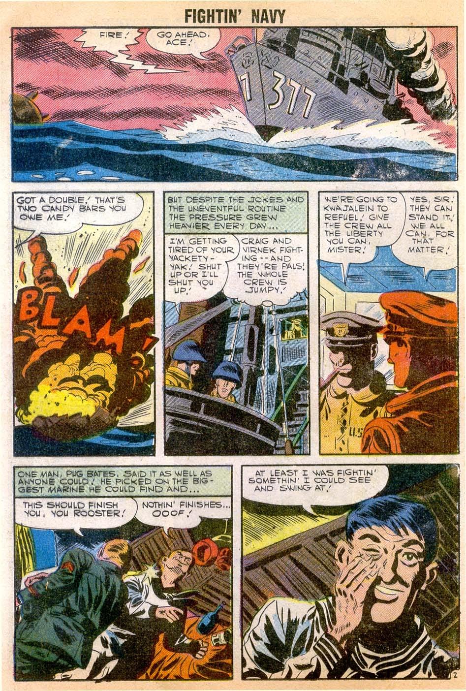 Read online Fightin' Navy comic -  Issue #79 - 12