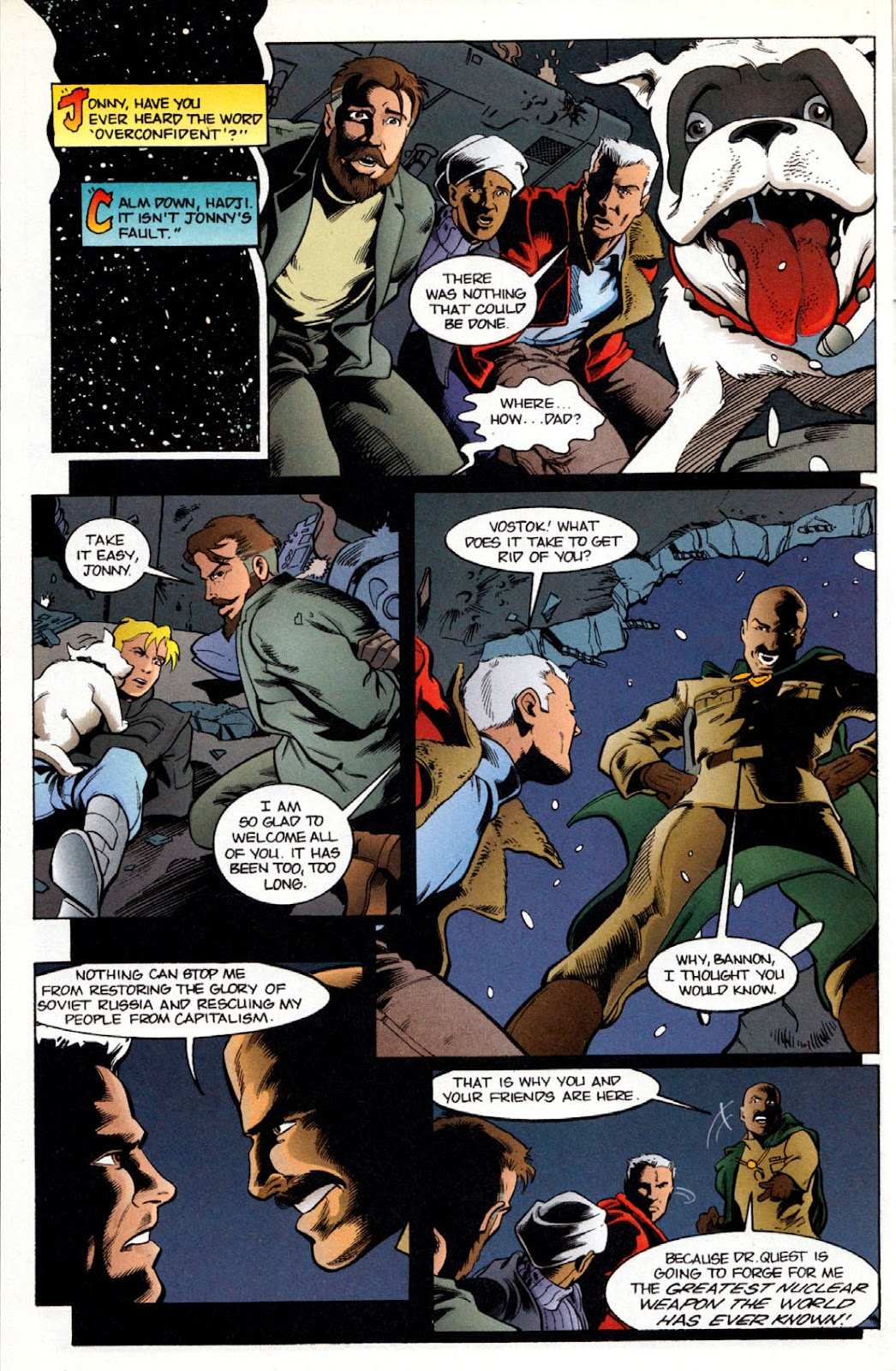 Read online The Real Adventures of Jonny Quest comic -  Issue #6 - 8